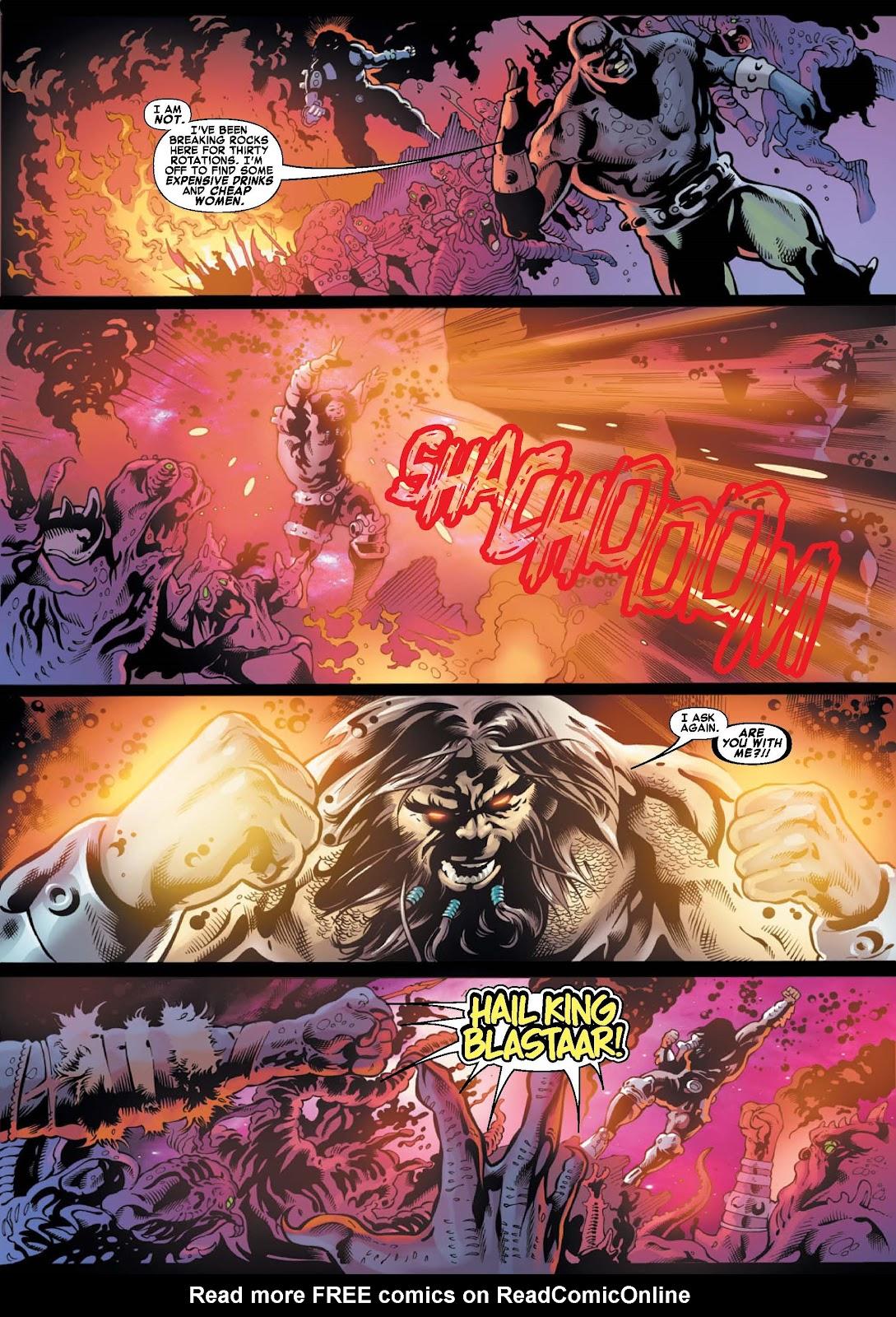 War of Kings: Warriors - Blastaar Issue #1 #1 - English 6