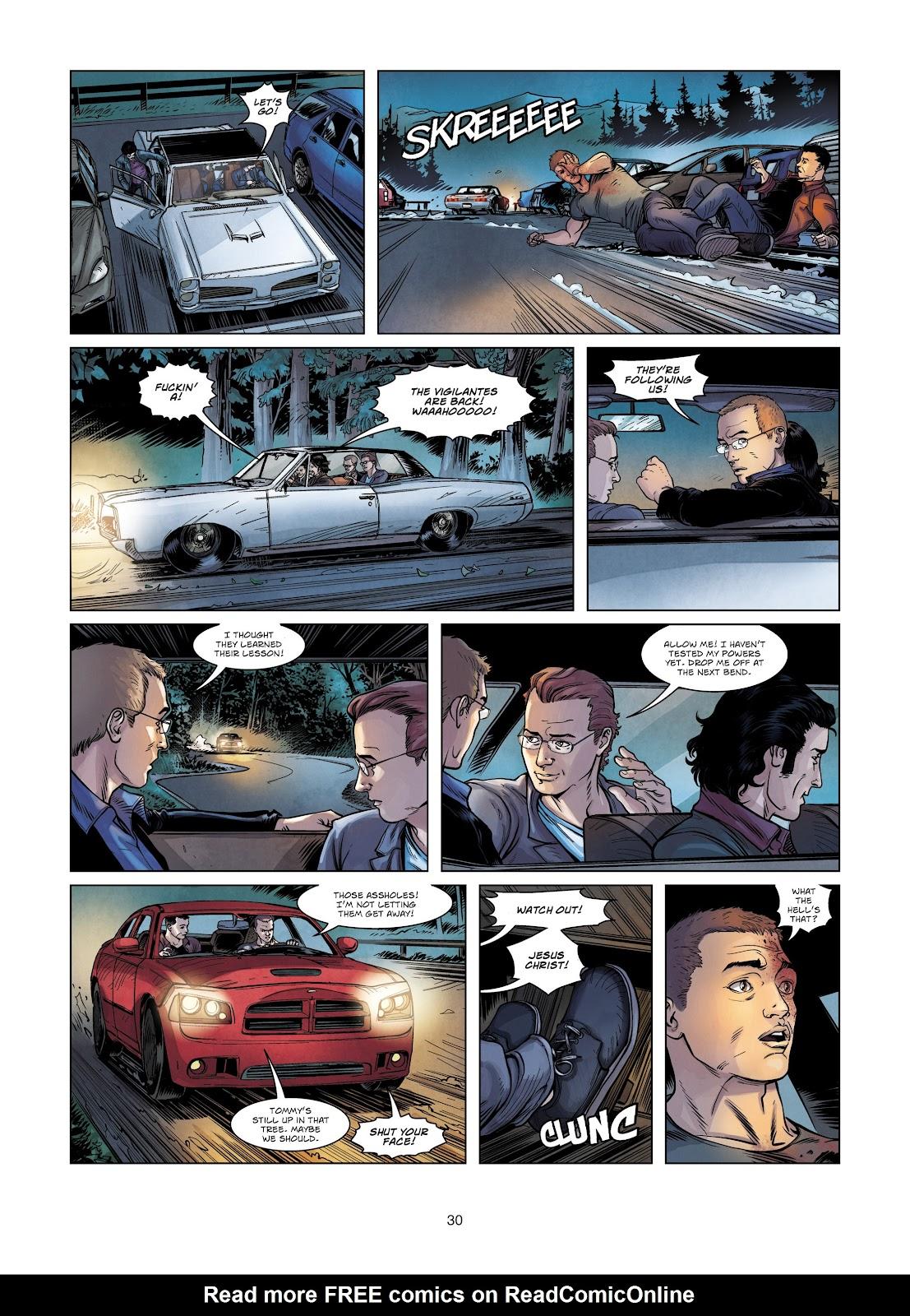 Read online Vigilantes comic -  Issue #2 - 30