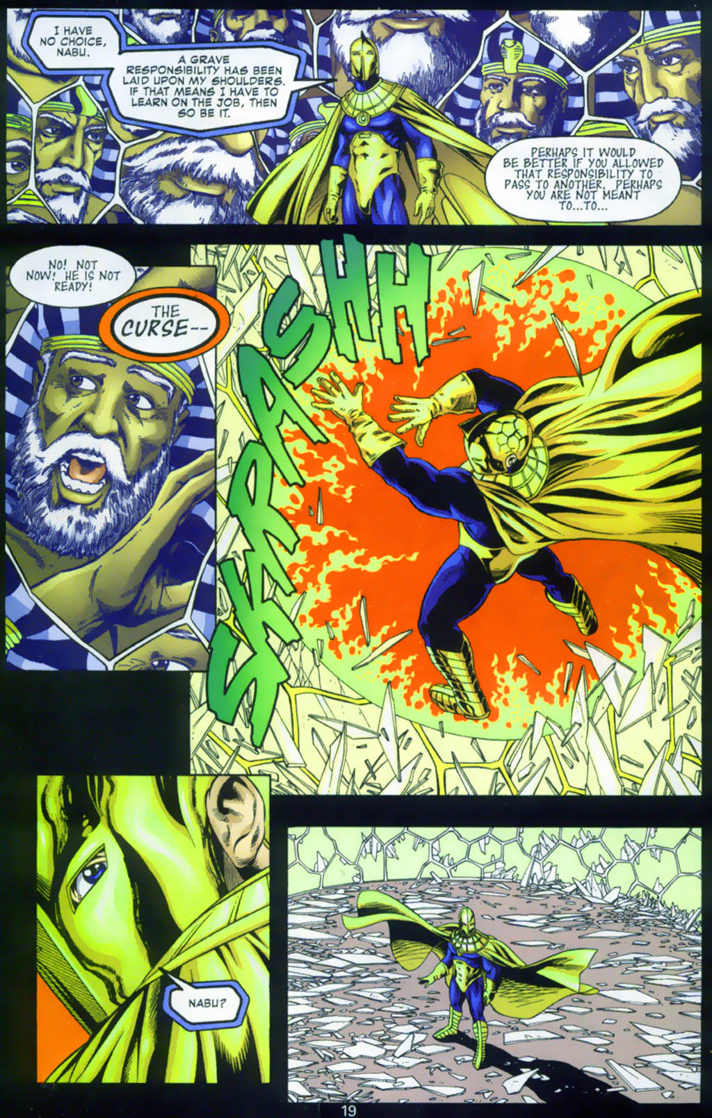 Read online Doctor Fate (2003) comic -  Issue #1 - 19