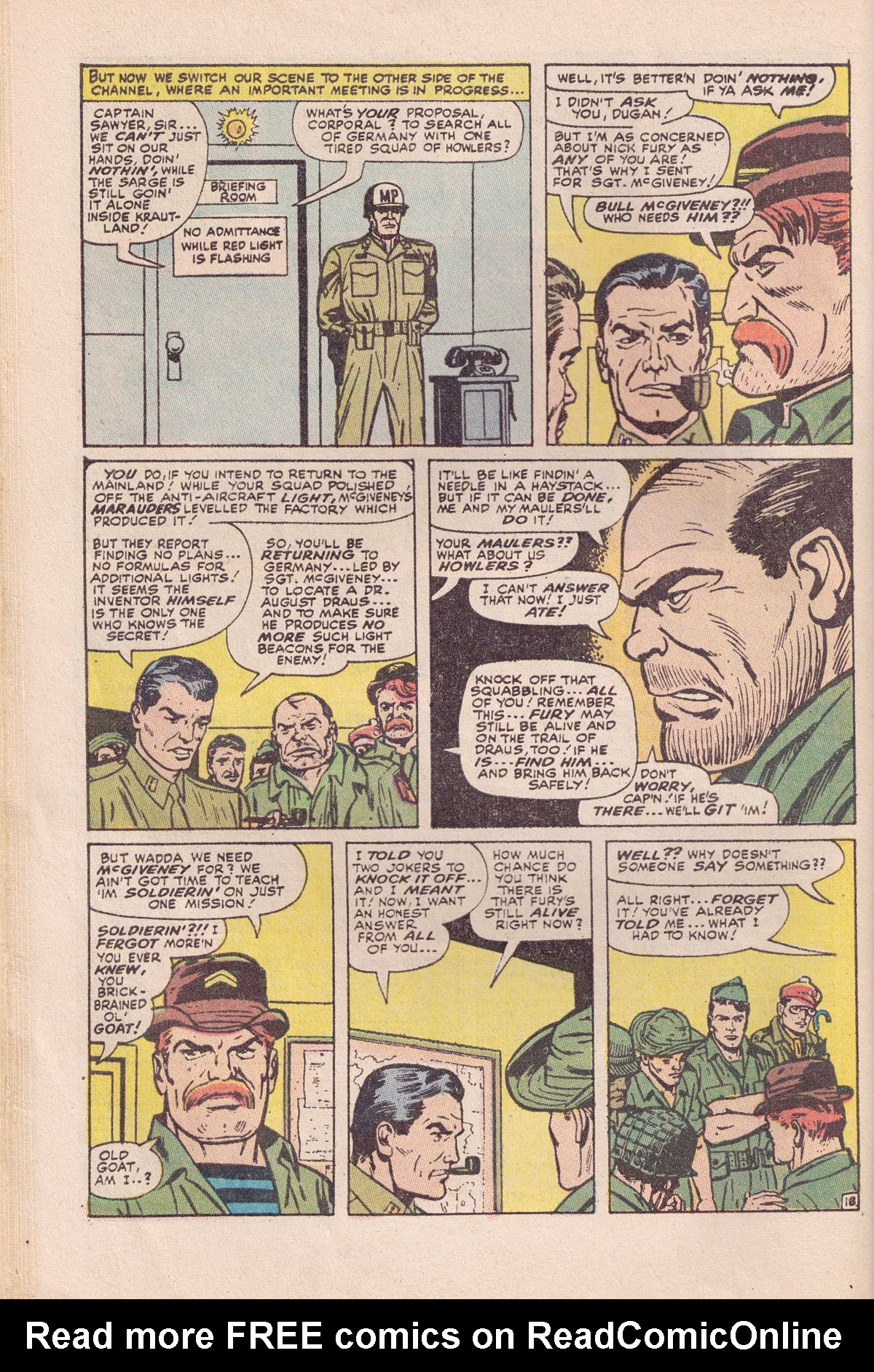 Read online Sgt. Fury comic -  Issue #89 - 28