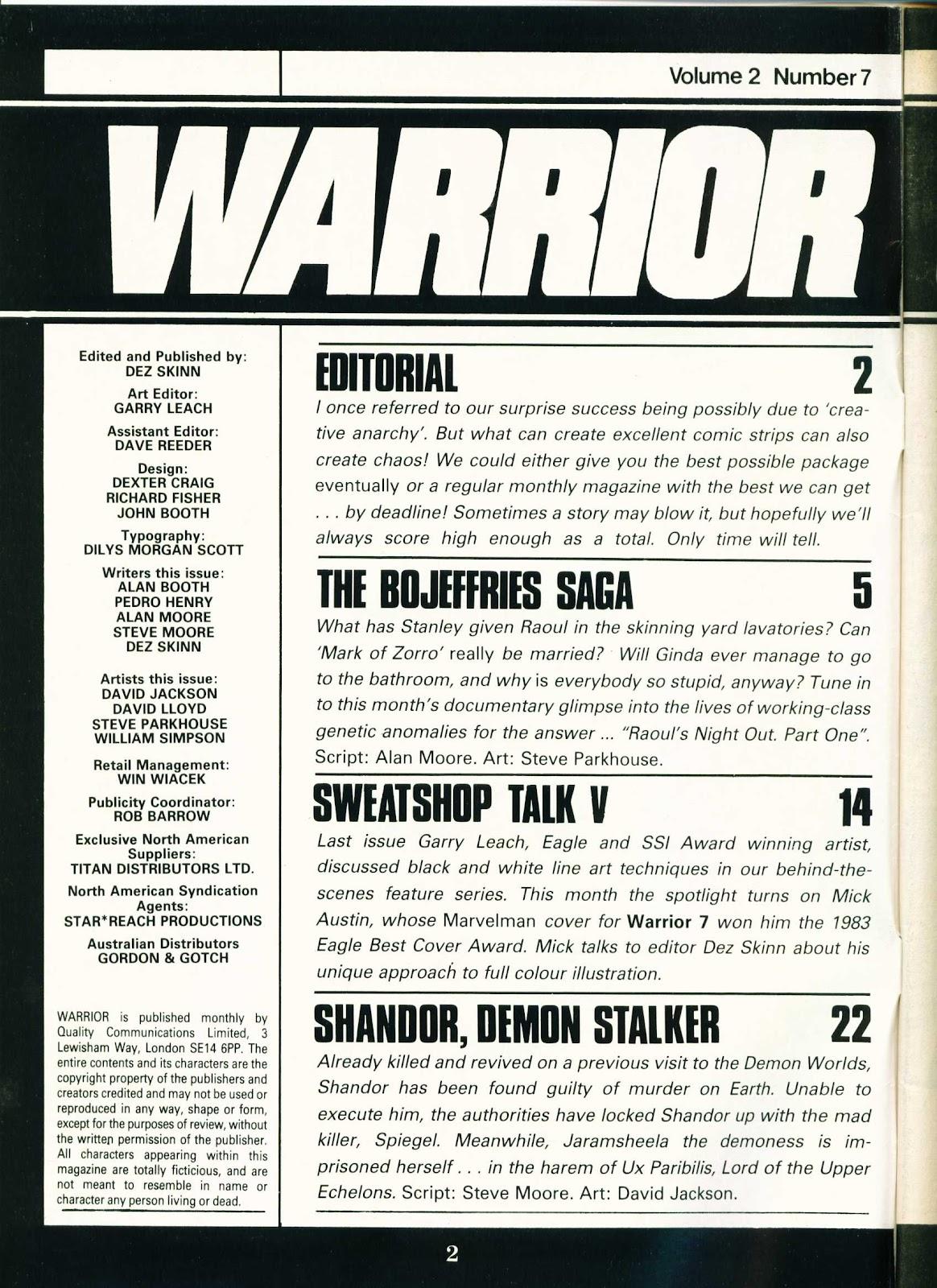 Warrior Issue #19 #20 - English 2