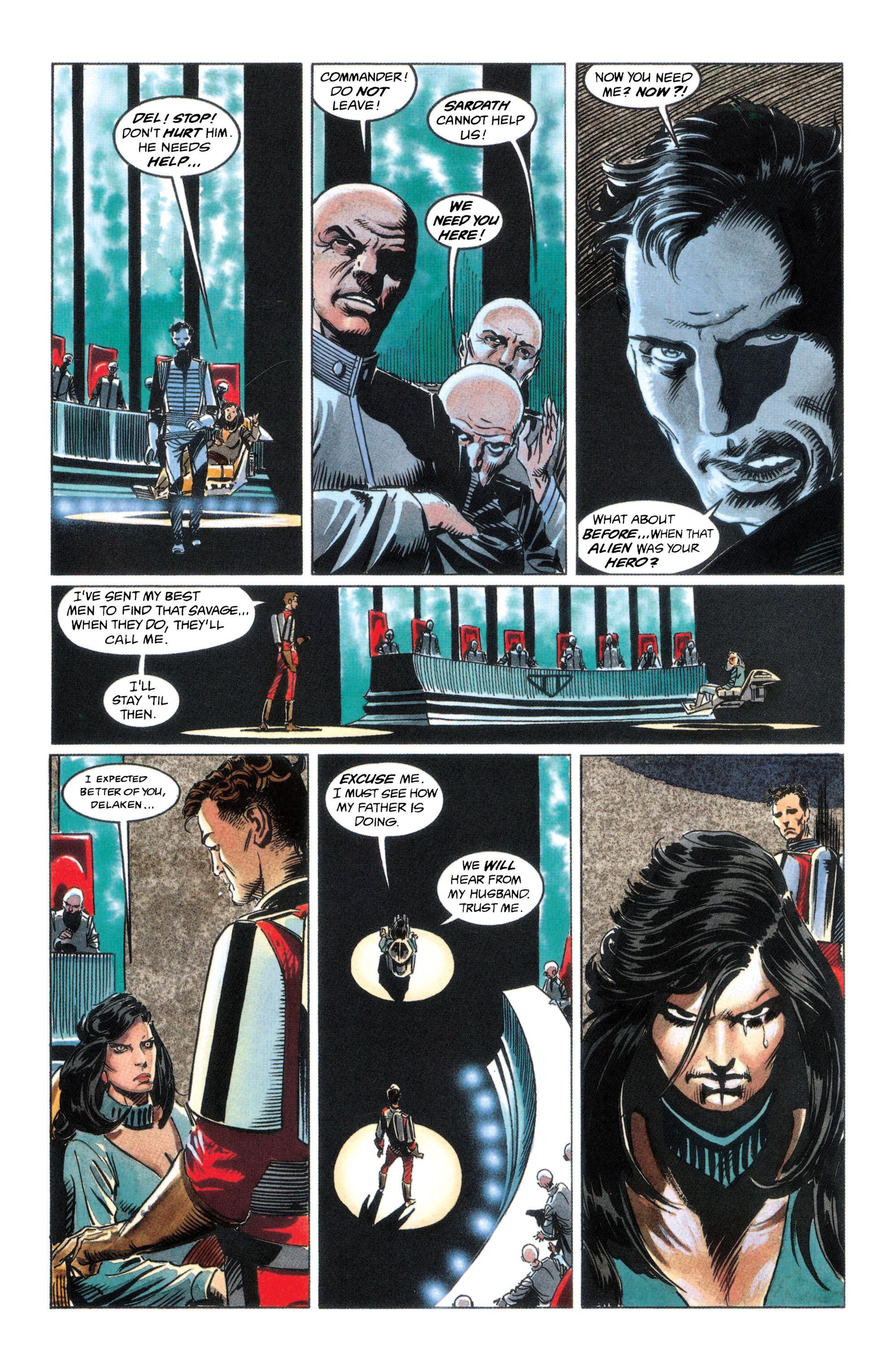 Read online Adam Strange (1990) comic -  Issue #2 - 5