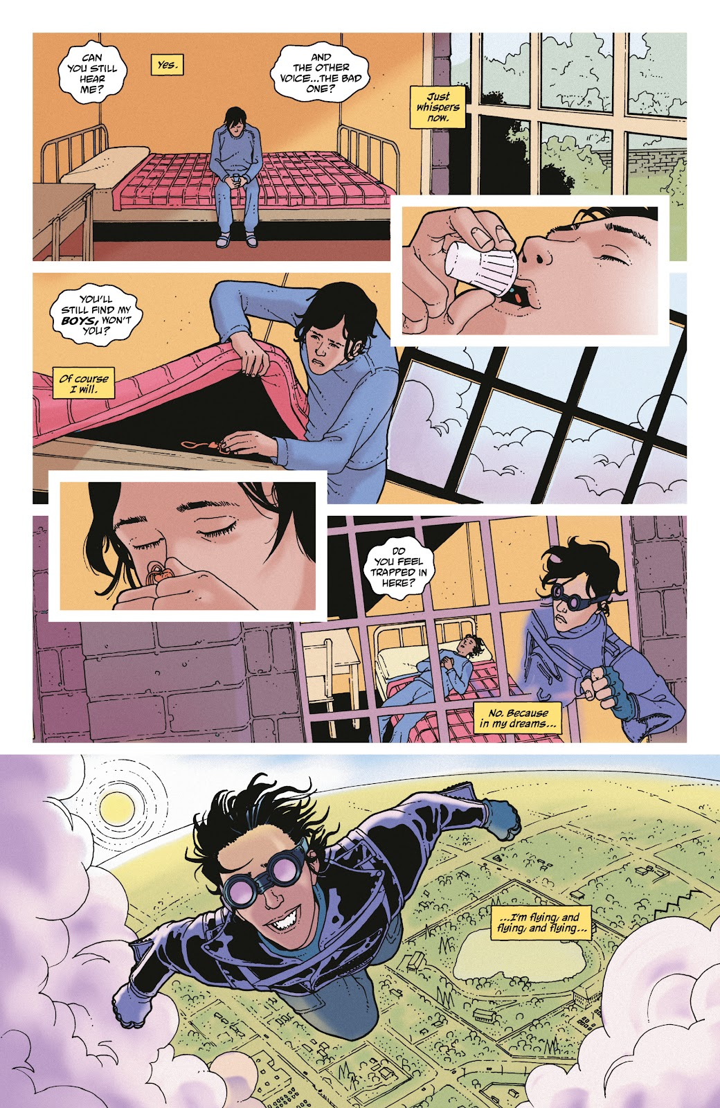 Read online She Could Fly comic -  Issue # _TPB - 141