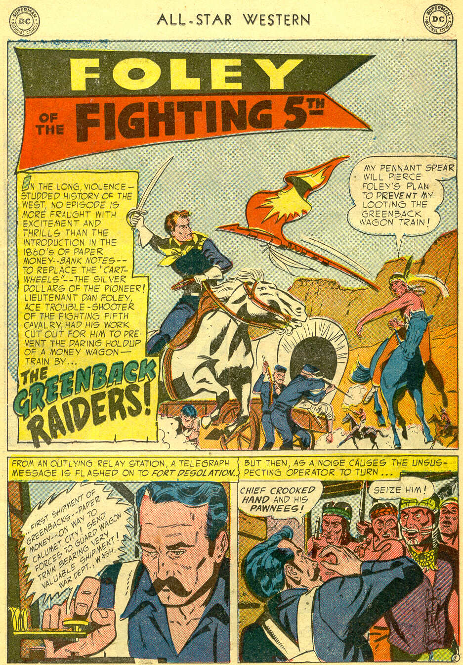 Read online All-Star Western (1951) comic -  Issue #78 - 19