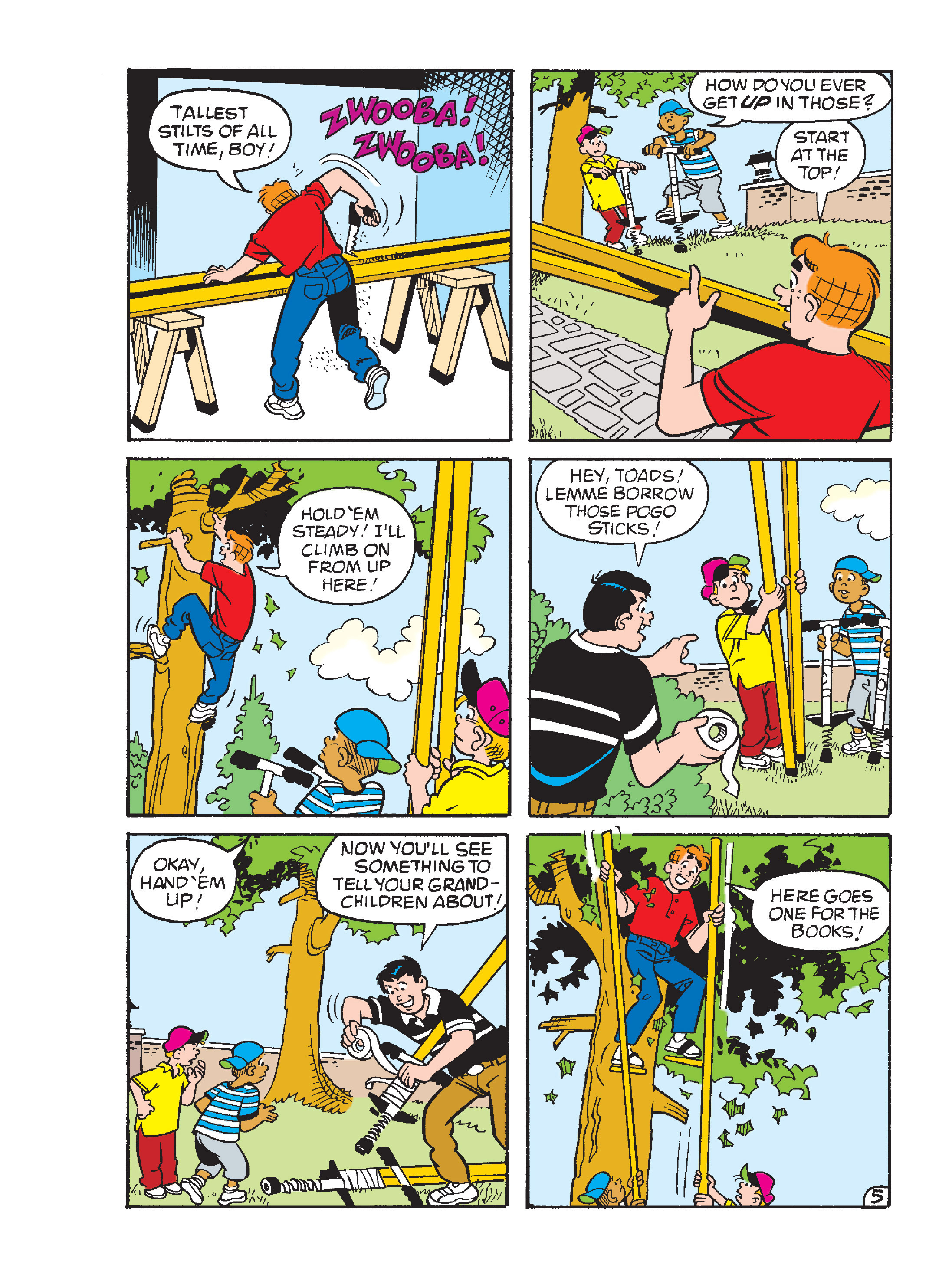 Read online Archie's Funhouse Double Digest comic -  Issue #15 - 207