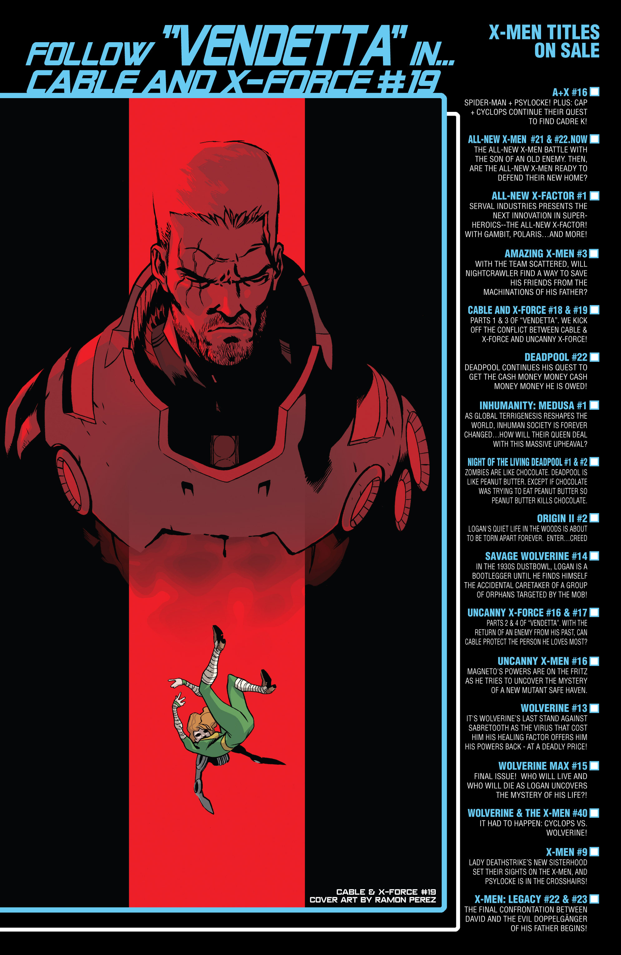 Read online Uncanny X-Force (2013) comic -  Issue #16 - 23