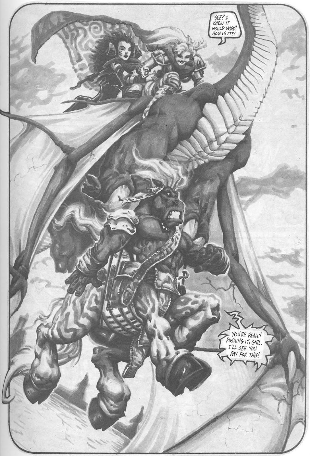 Read online Animal Mystic comic -  Issue #4 - 37