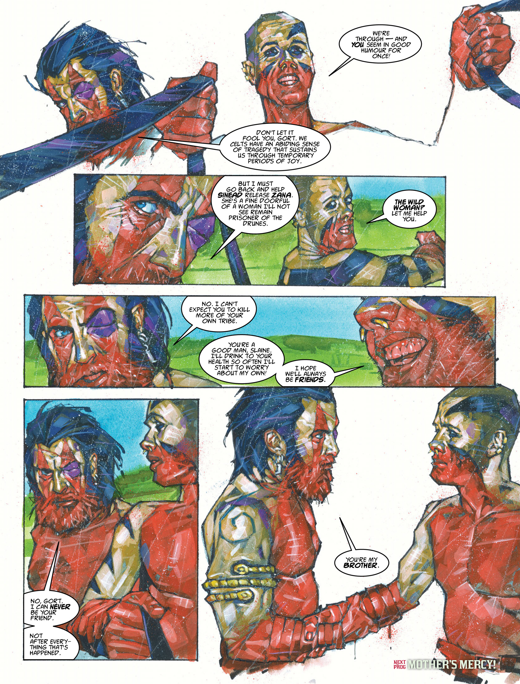 Read online 2000 AD comic -  Issue #1983 - 14