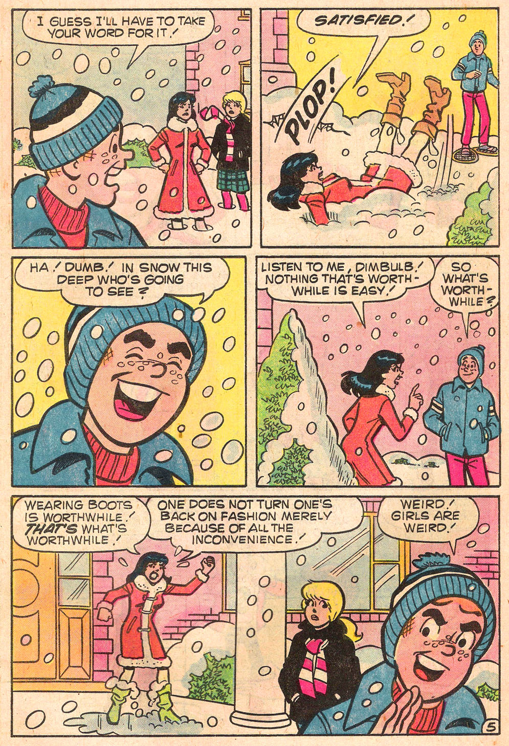 Read online Archie's Girls Betty and Veronica comic -  Issue #268 - 7