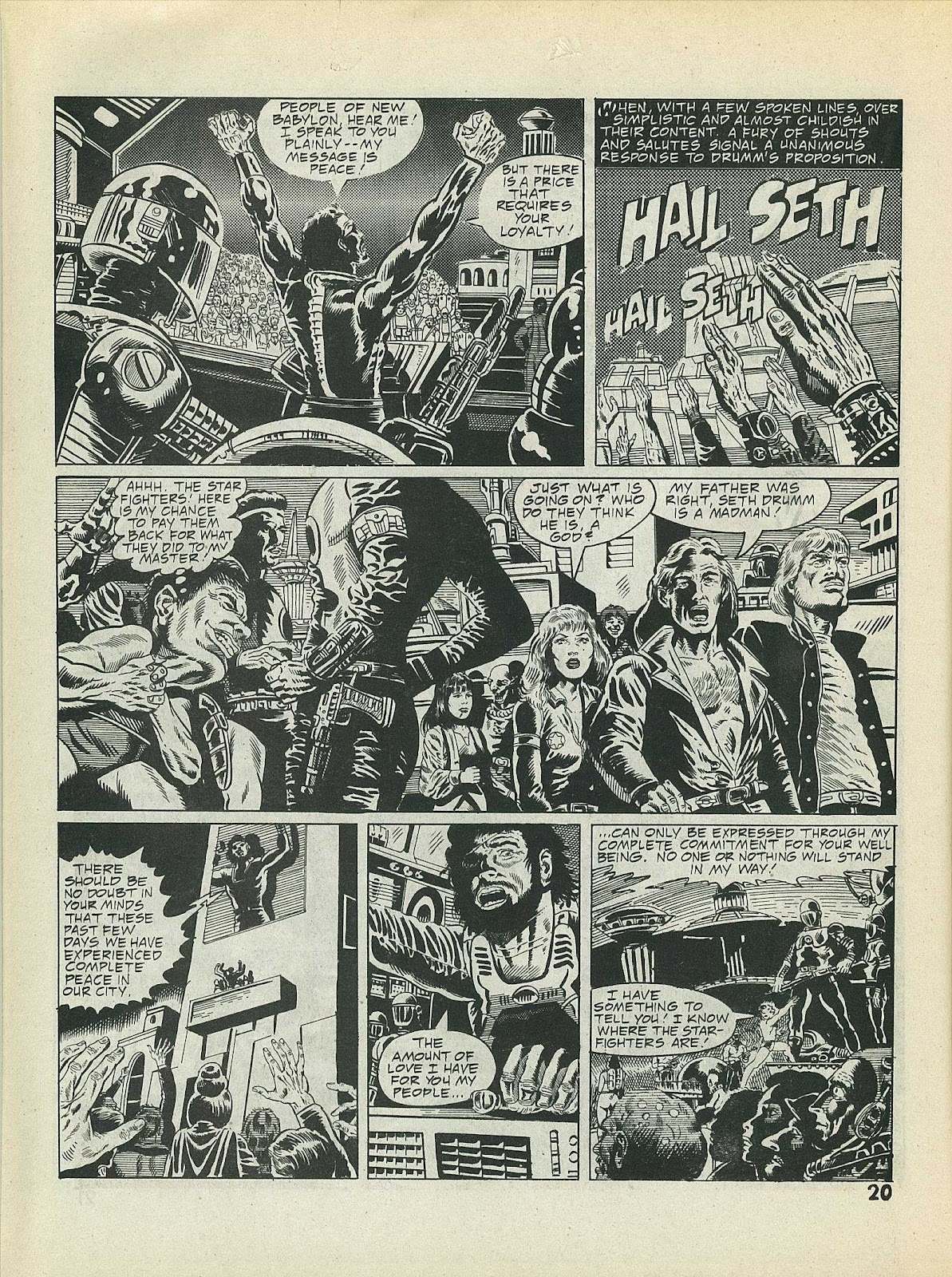 Star Fighters issue 3 - Page 22