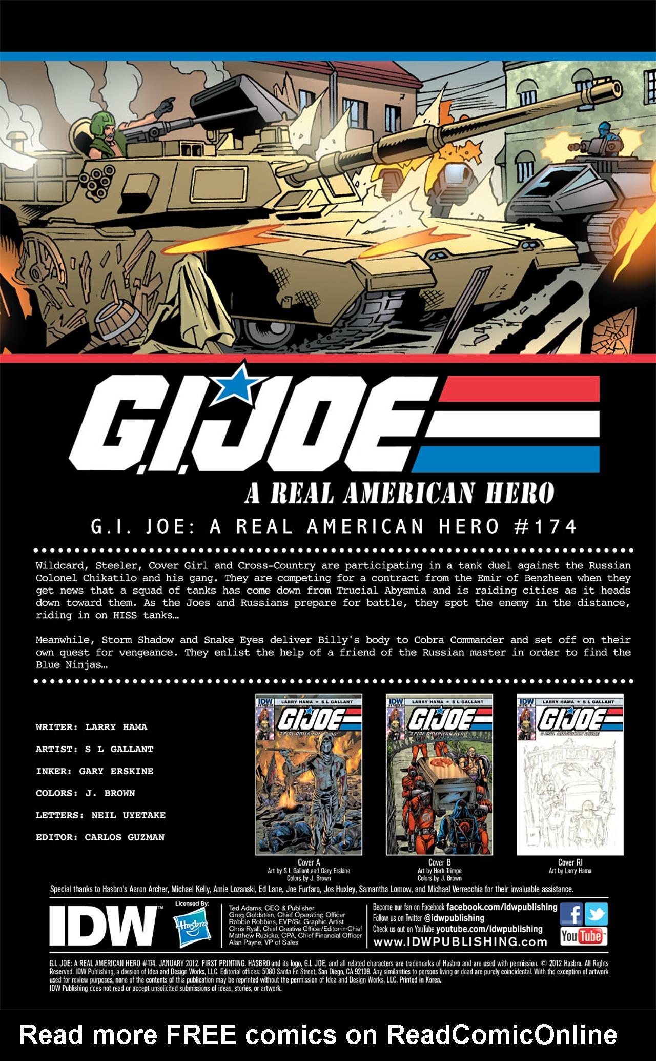 G.I. Joe: A Real American Hero 174 Page 3