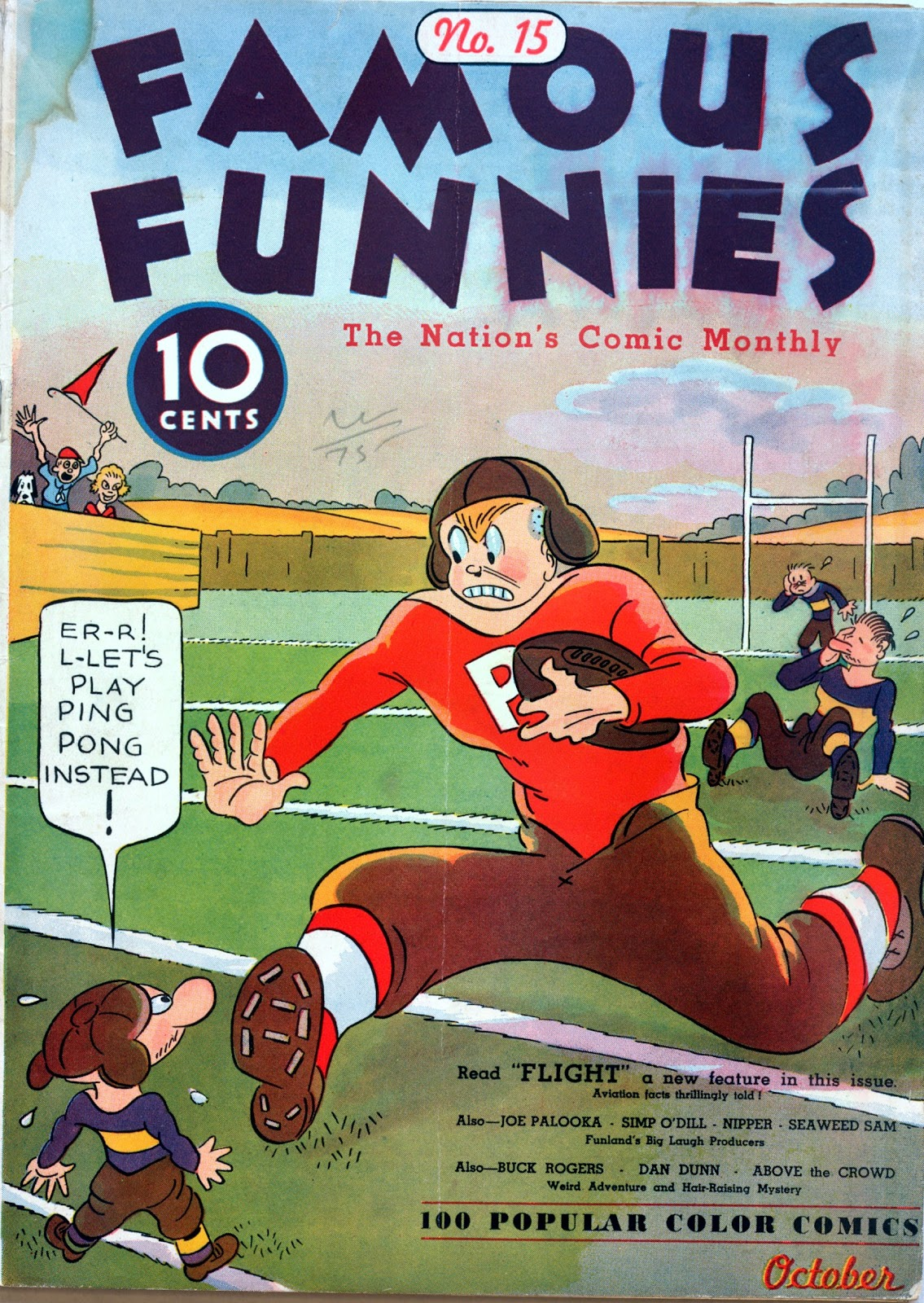 Read online Famous Funnies comic -  Issue #15 - 1