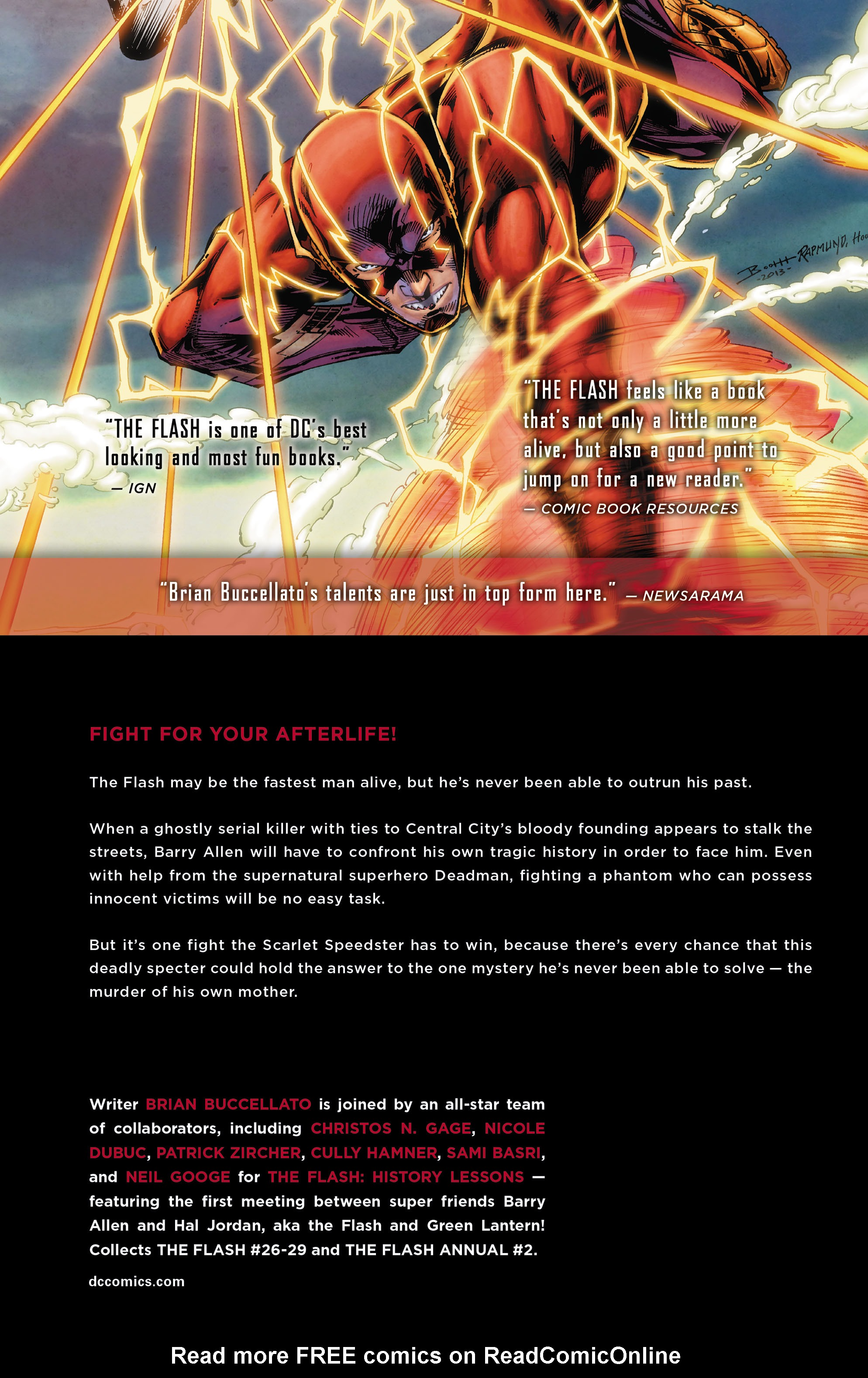 Read online The Flash (2011) comic -  Issue # _TPB 5 - 138