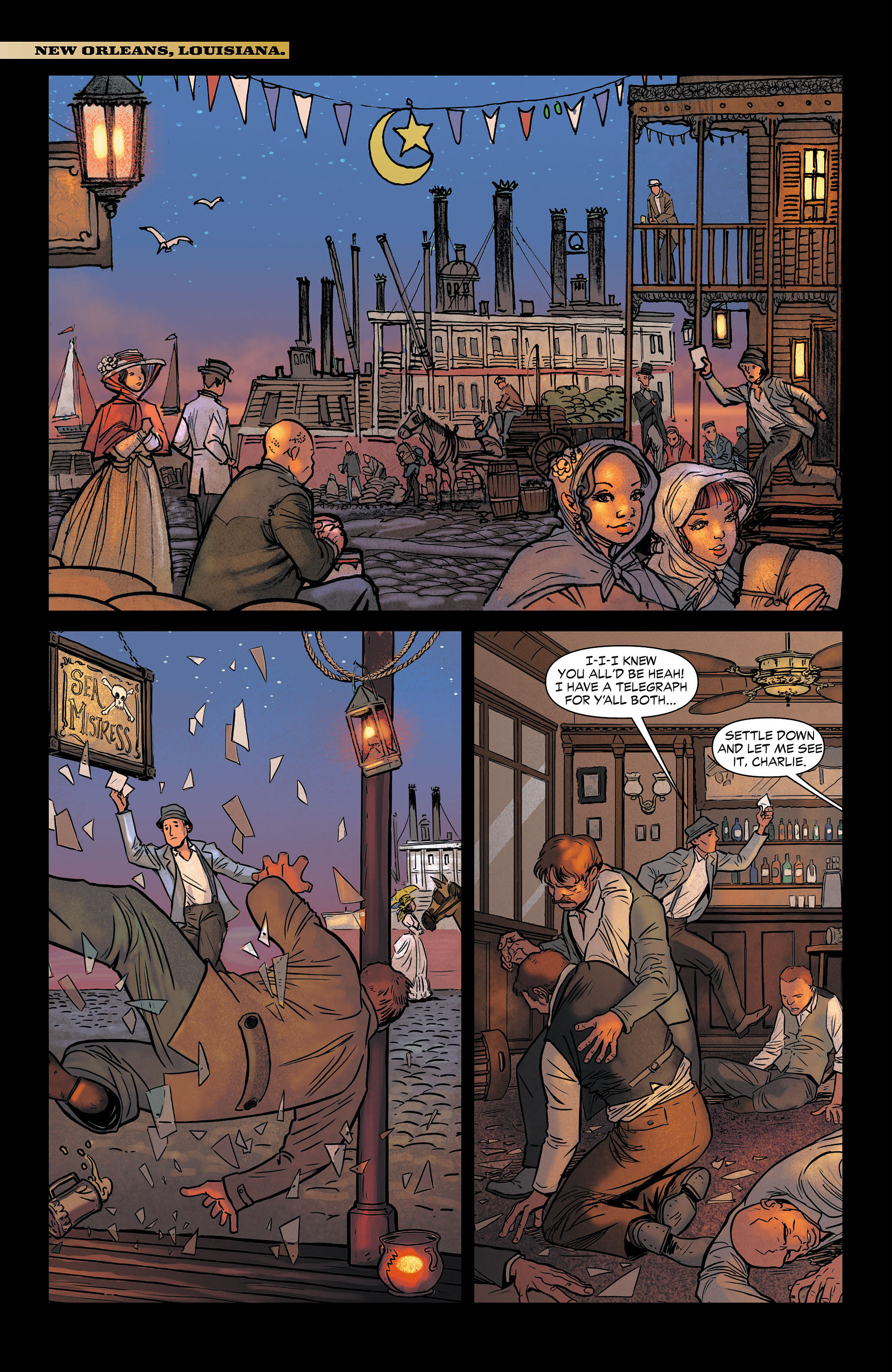 Read online All-Star Western (2011) comic -  Issue #6 - 20
