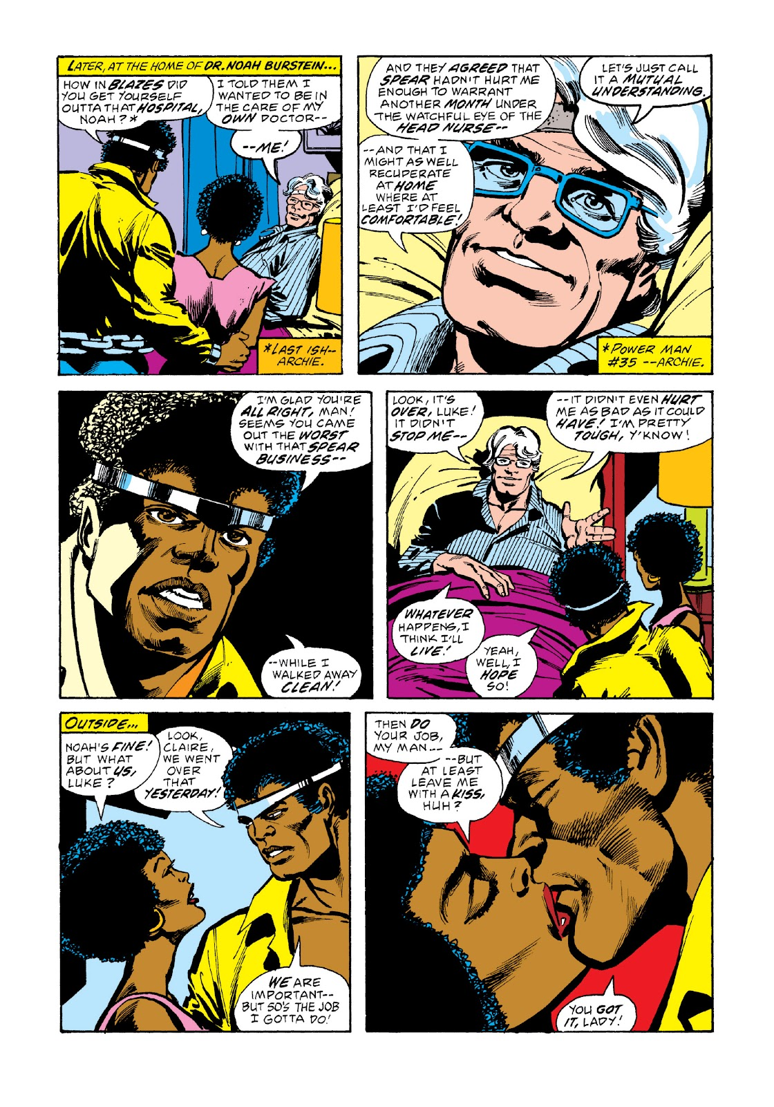 Read online Marvel Masterworks: Luke Cage, Power Man comic -  Issue # TPB 3 (Part 2) - 64