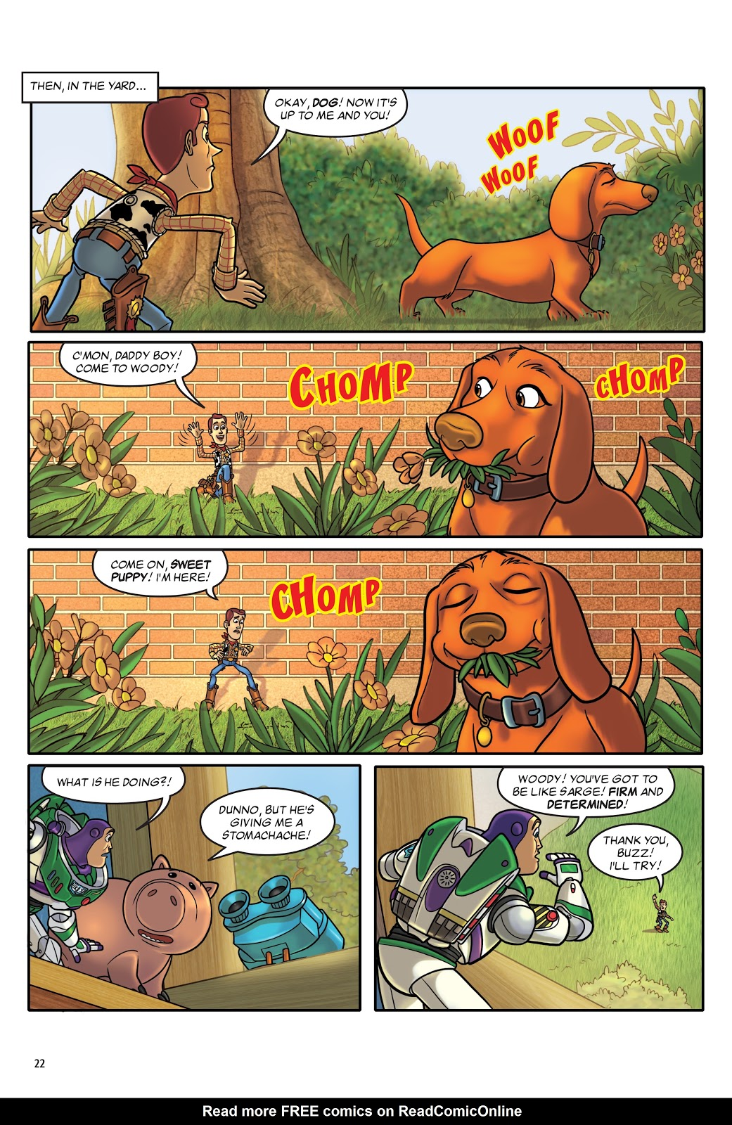 Read online DISNEY·PIXAR Toy Story Adventures comic -  Issue # TPB 1 (Part 1) - 22