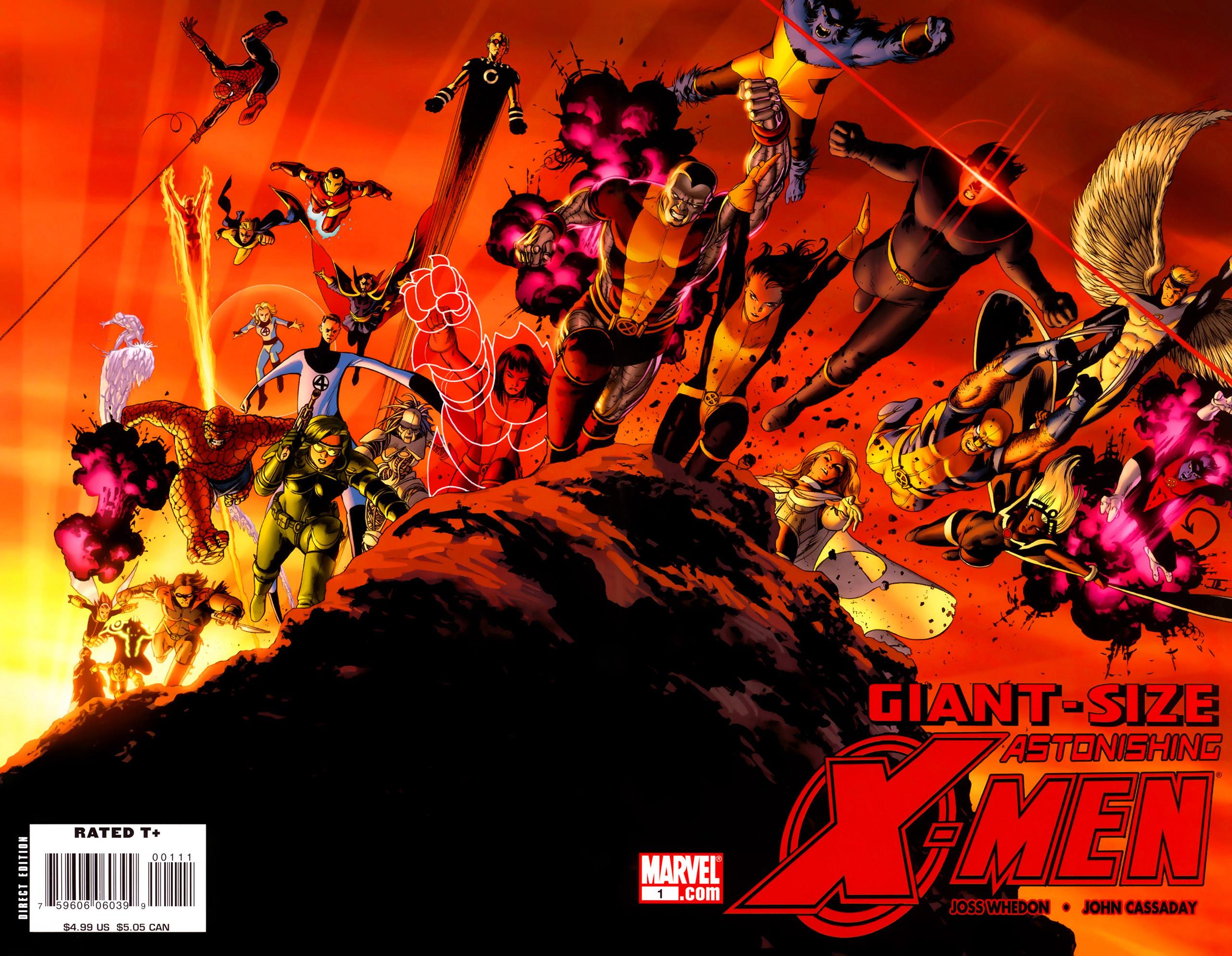 Read online Giant-Size Astonishing X-Men comic -  Issue # Full - 1