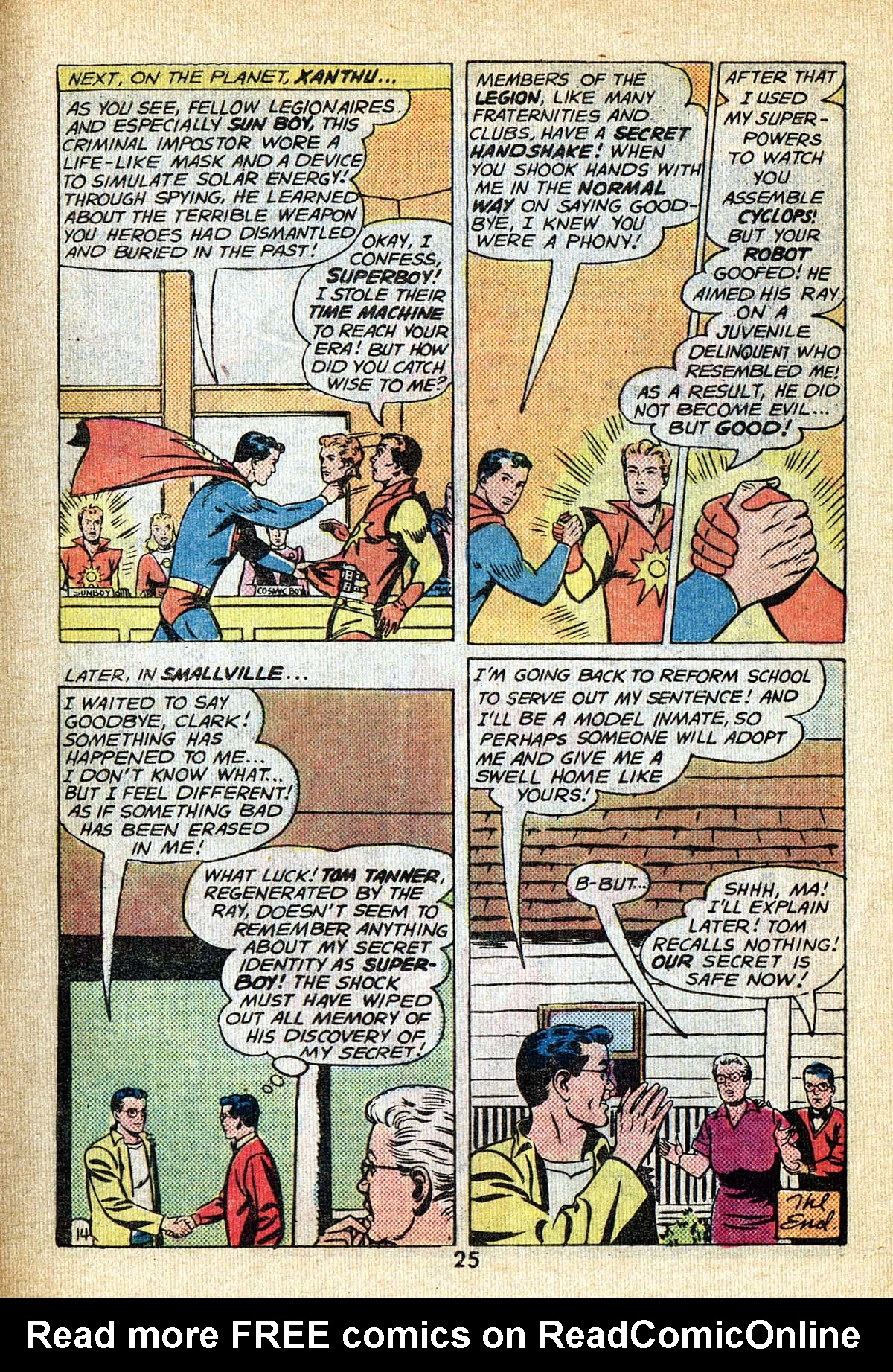 Read online Adventure Comics (1938) comic -  Issue #495 - 25