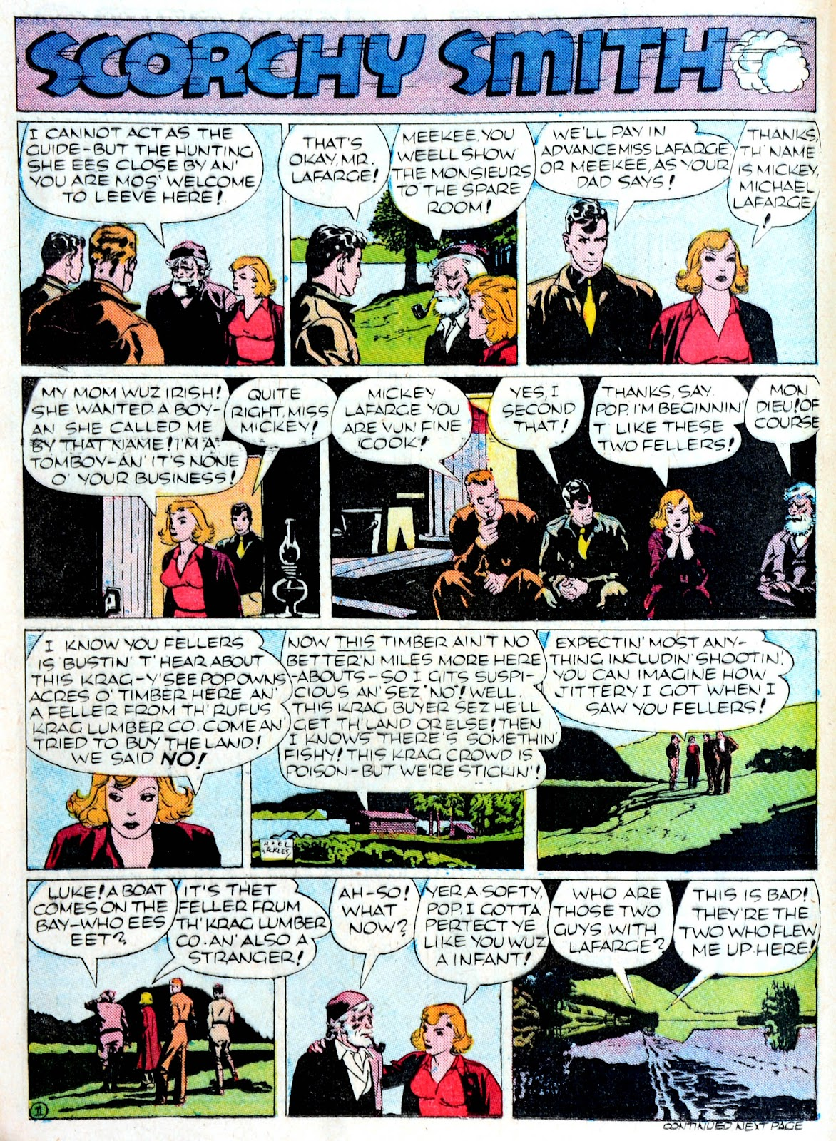 Read online Famous Funnies comic -  Issue #60 - 45