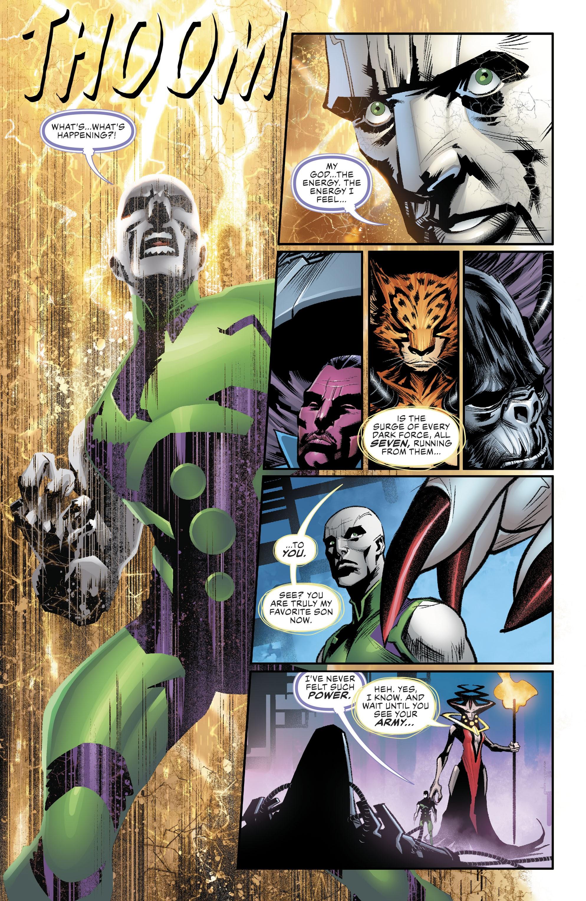 【DC宇宙相關】蝙蝠俠的另一項祕密武器居然是正義聯盟基地所變成的戰艦!
