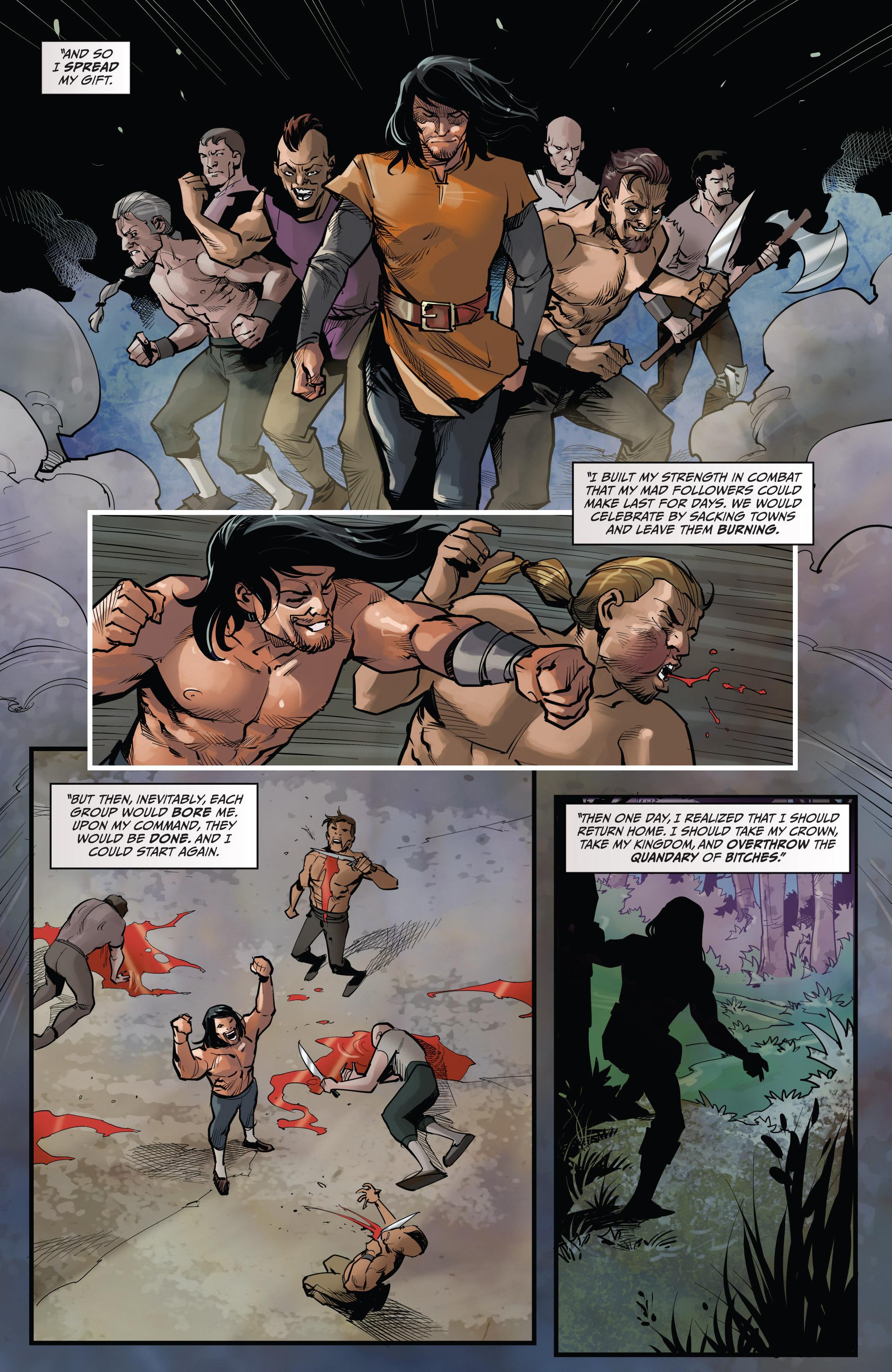 Read online Grimm Fairy Tales vs. Wonderland comic -  Issue #3 - 13