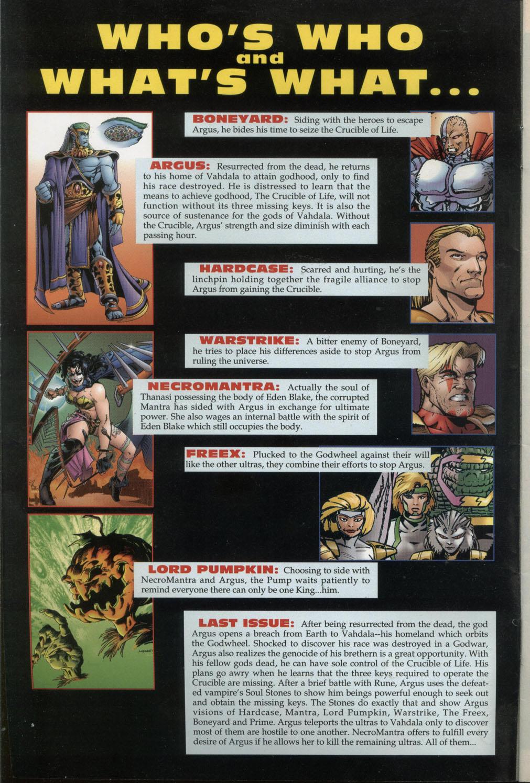 Read online Godwheel comic -  Issue #1 - 3