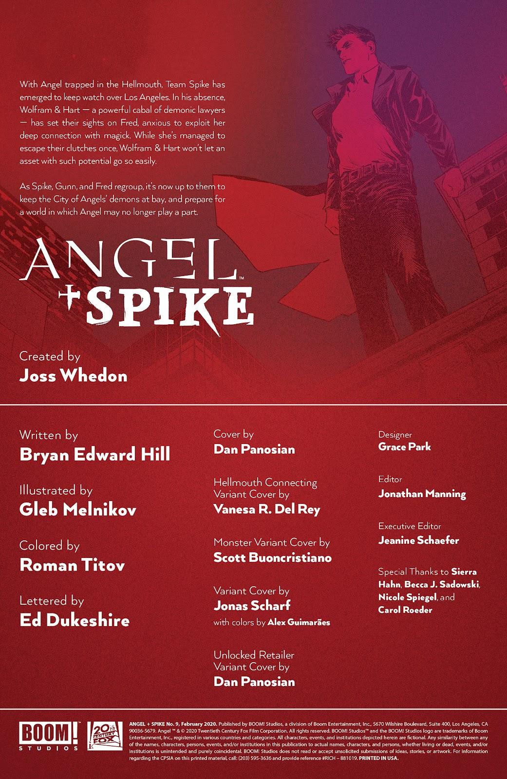 Read online Angel   Spike comic -  Issue #9 - 2