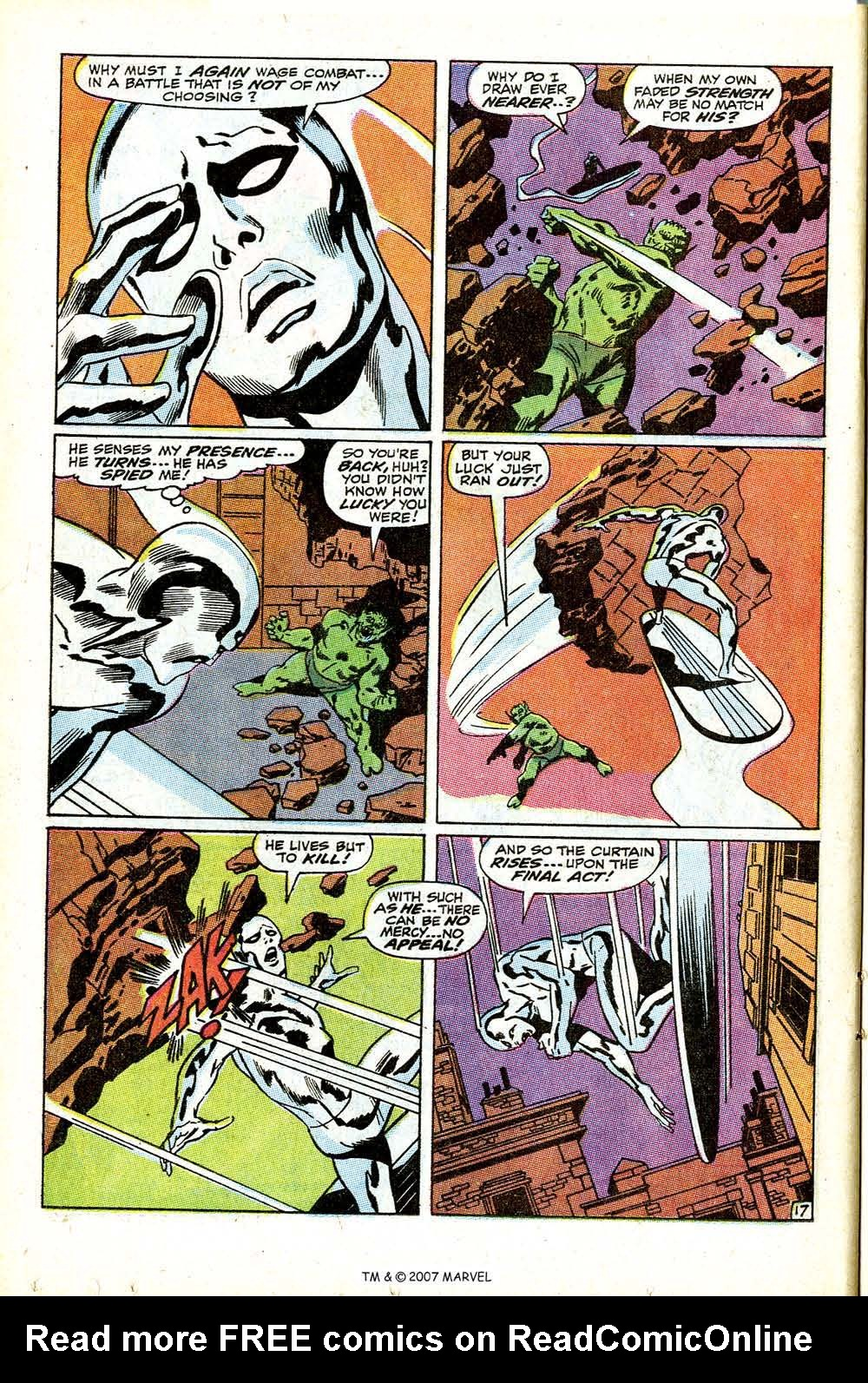 Read online Silver Surfer (1968) comic -  Issue #12 - 24