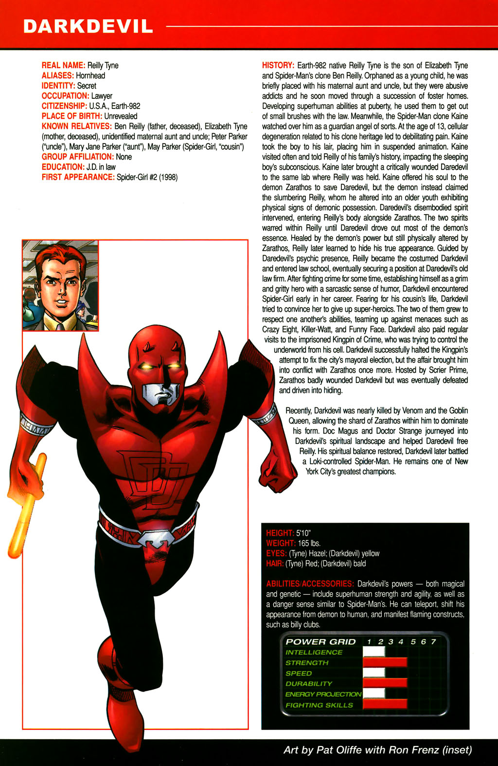 Read online All-New Official Handbook of the Marvel Universe A to Z comic -  Issue #3 - 18