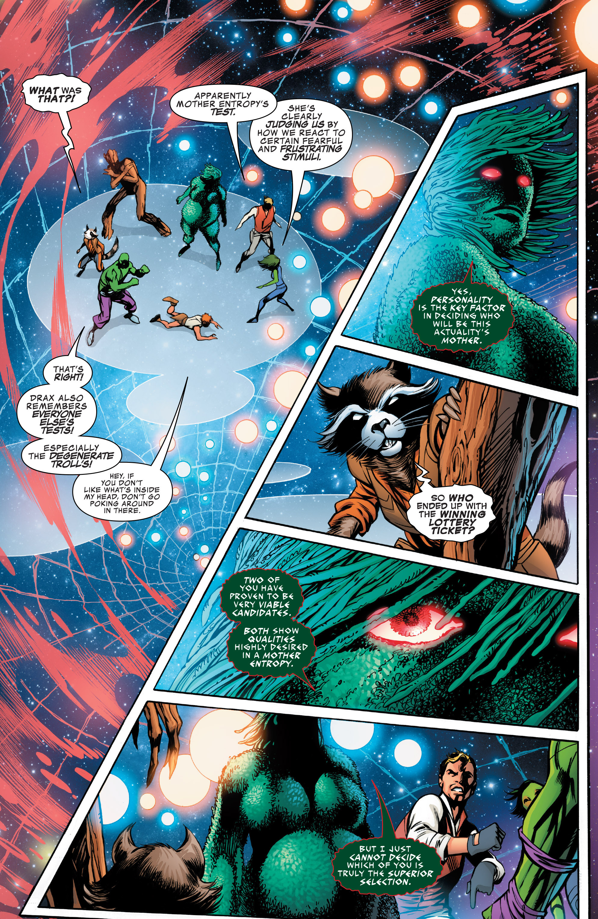 Read online Guardians of the Galaxy: Mother Entropy comic -  Issue #2 - 19