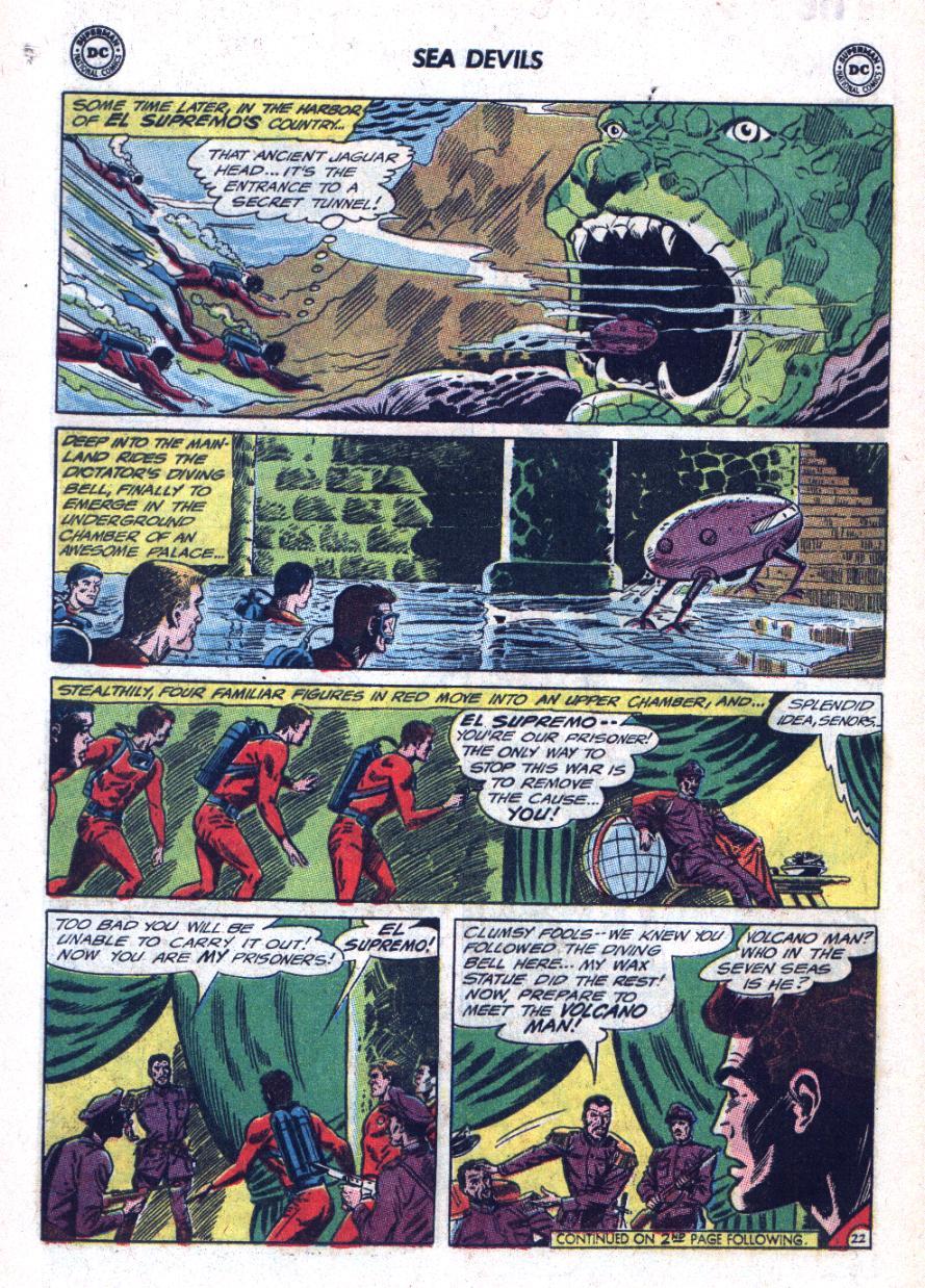 Read online Sea Devils comic -  Issue #25 - 29