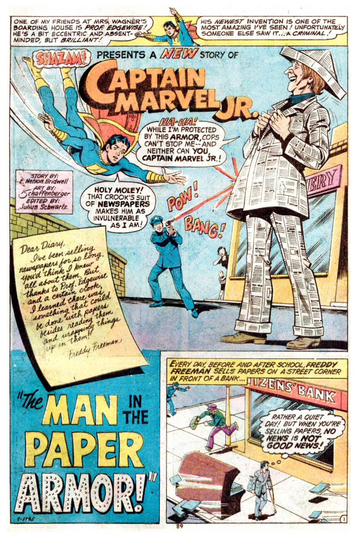 Read online Shazam! (1973) comic -  Issue #15 - 89