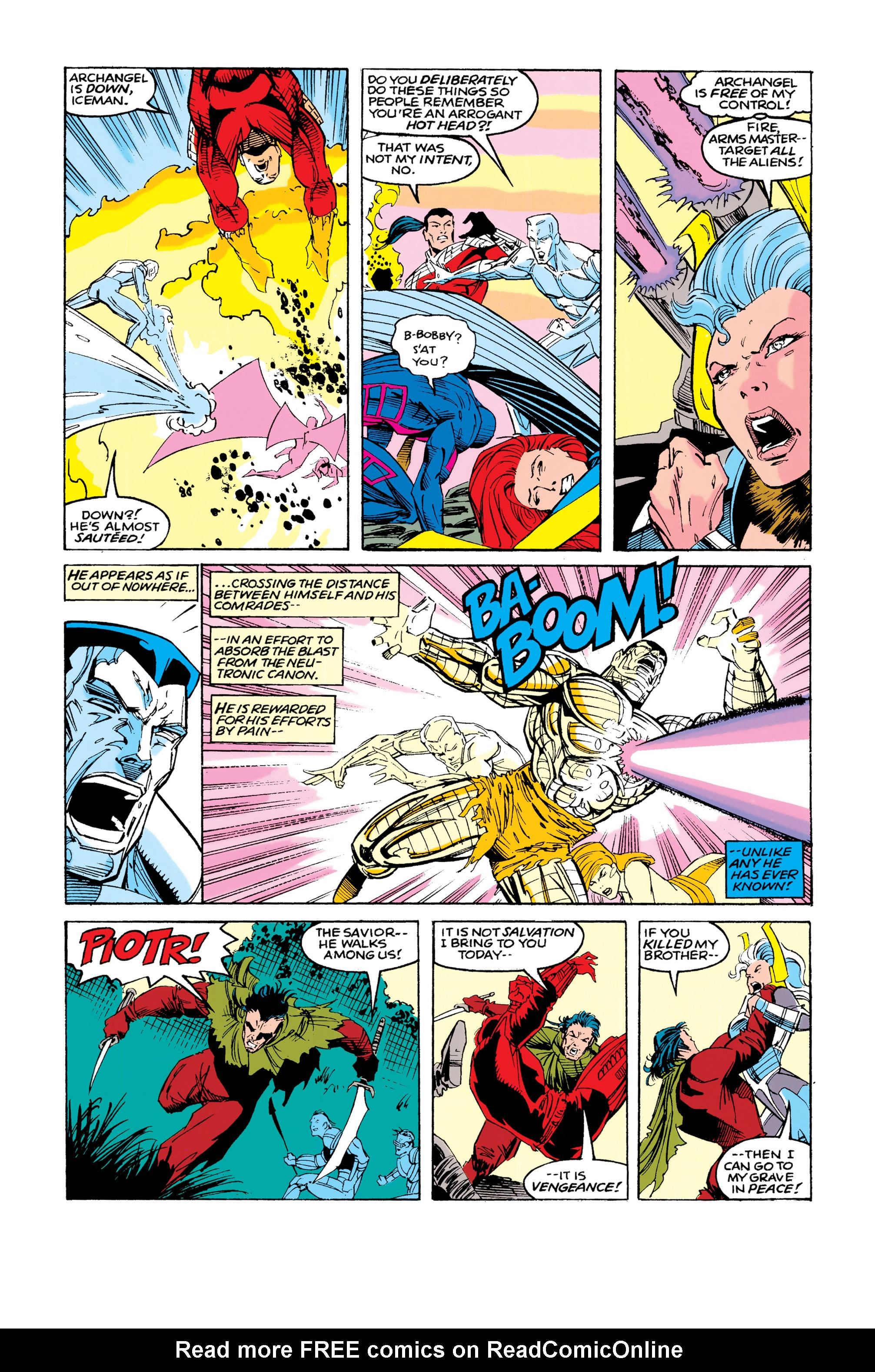 Read online Uncanny X-Men (1963) comic -  Issue #286 - 17