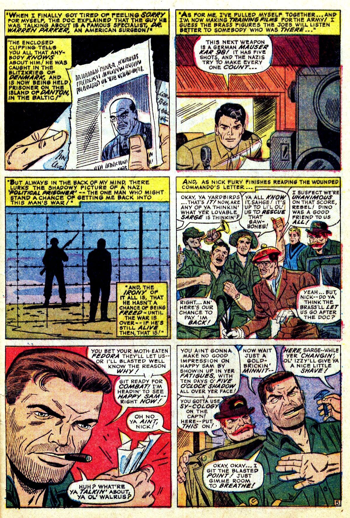 Read online Sgt. Fury comic -  Issue #38 - 9