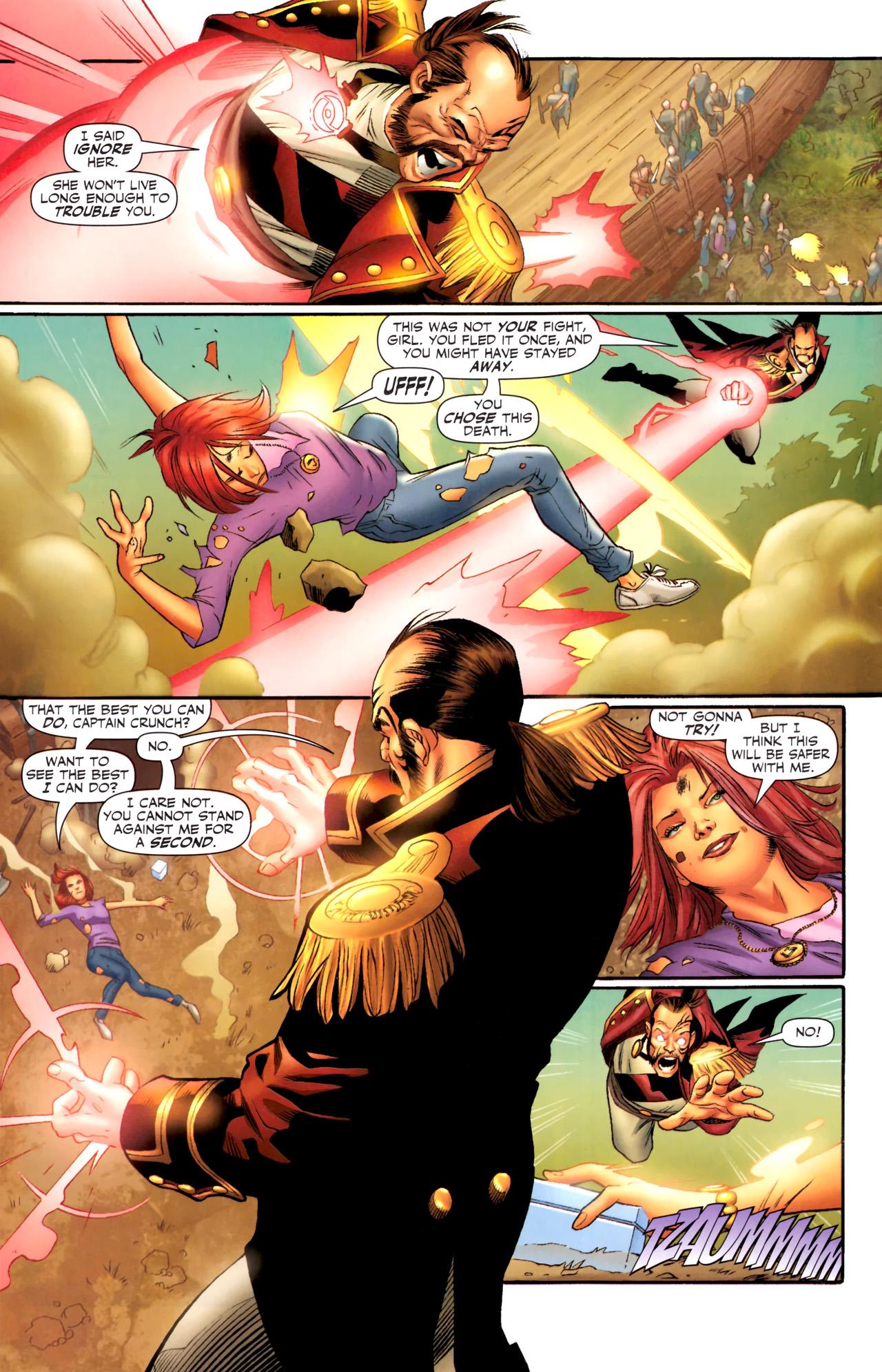 Read online Sigil (2011) comic -  Issue #4 - 5