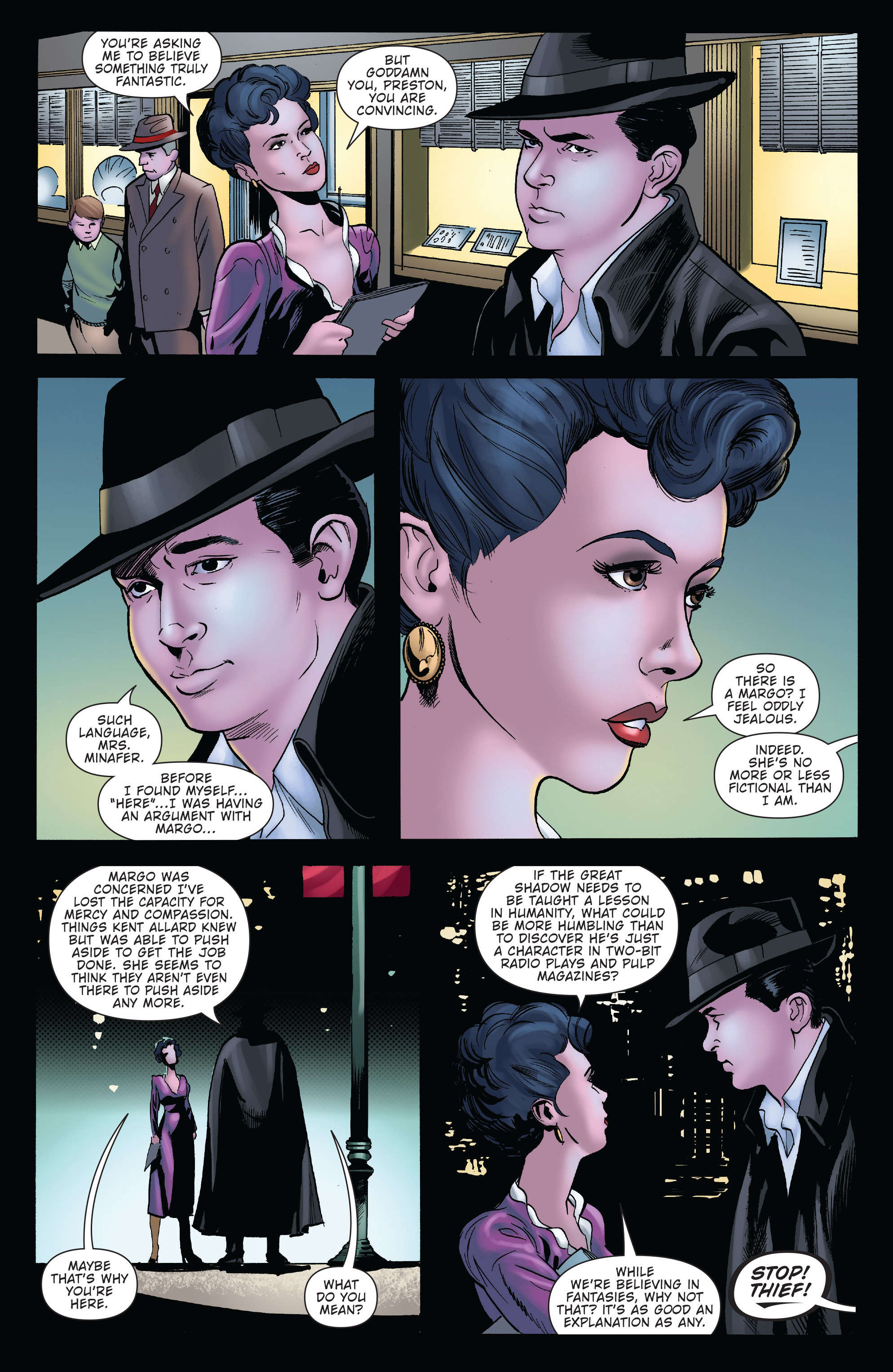 Read online Twilight Zone The Shadow comic -  Issue #2 - 16