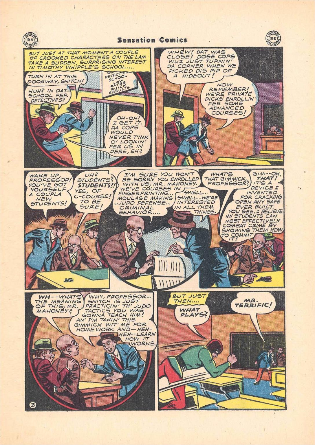 Read online Sensation (Mystery) Comics comic -  Issue #55 - 37