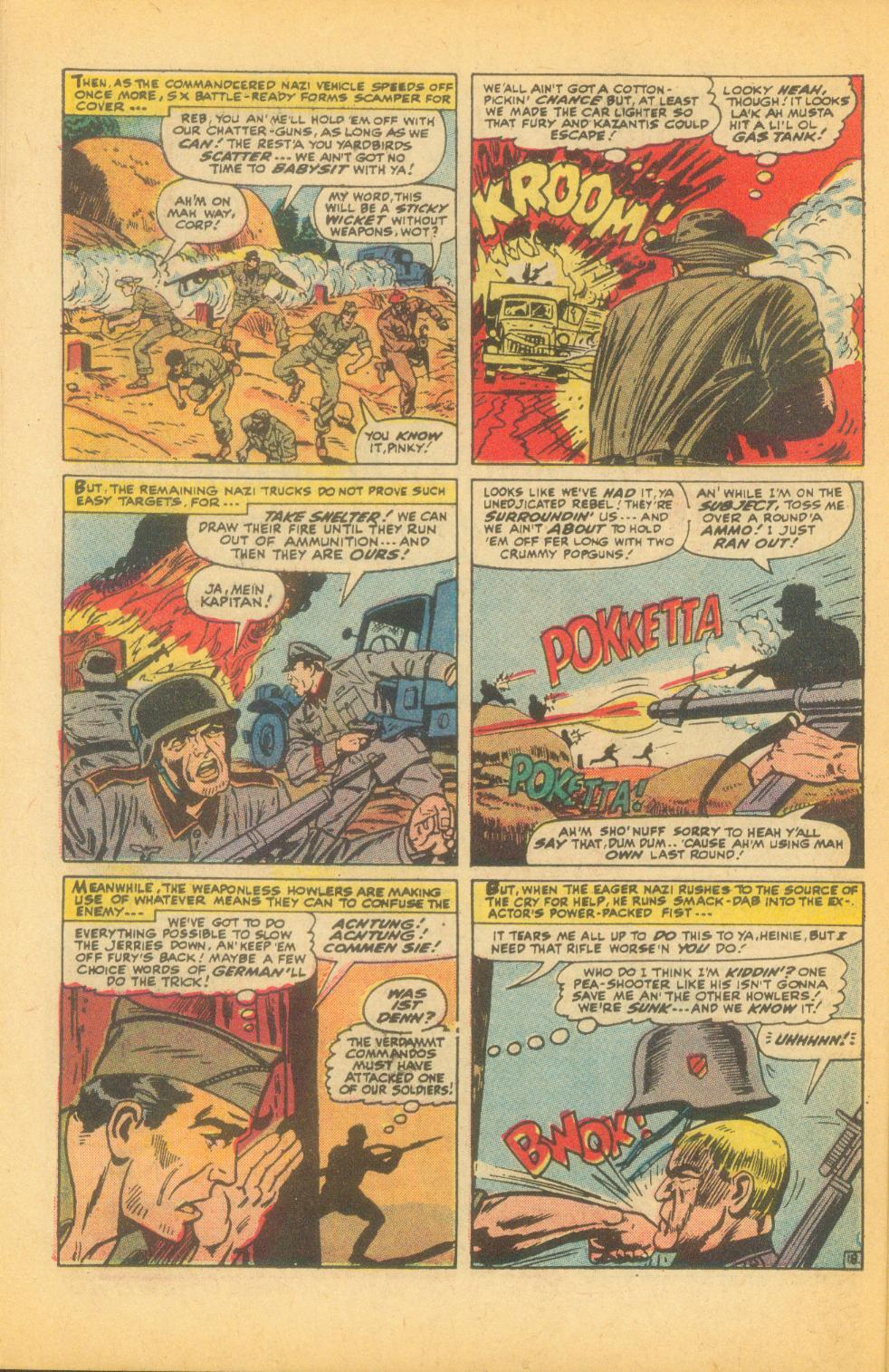 Read online Sgt. Fury comic -  Issue #99 - 26