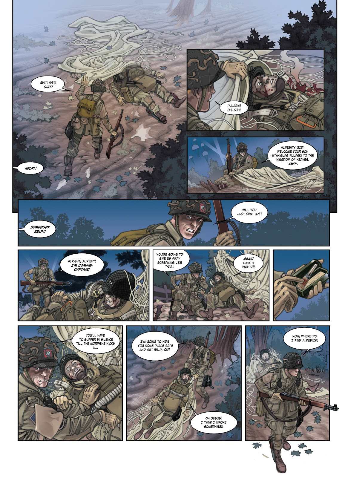Read online Opération Overlord comic -  Issue #1 - 15