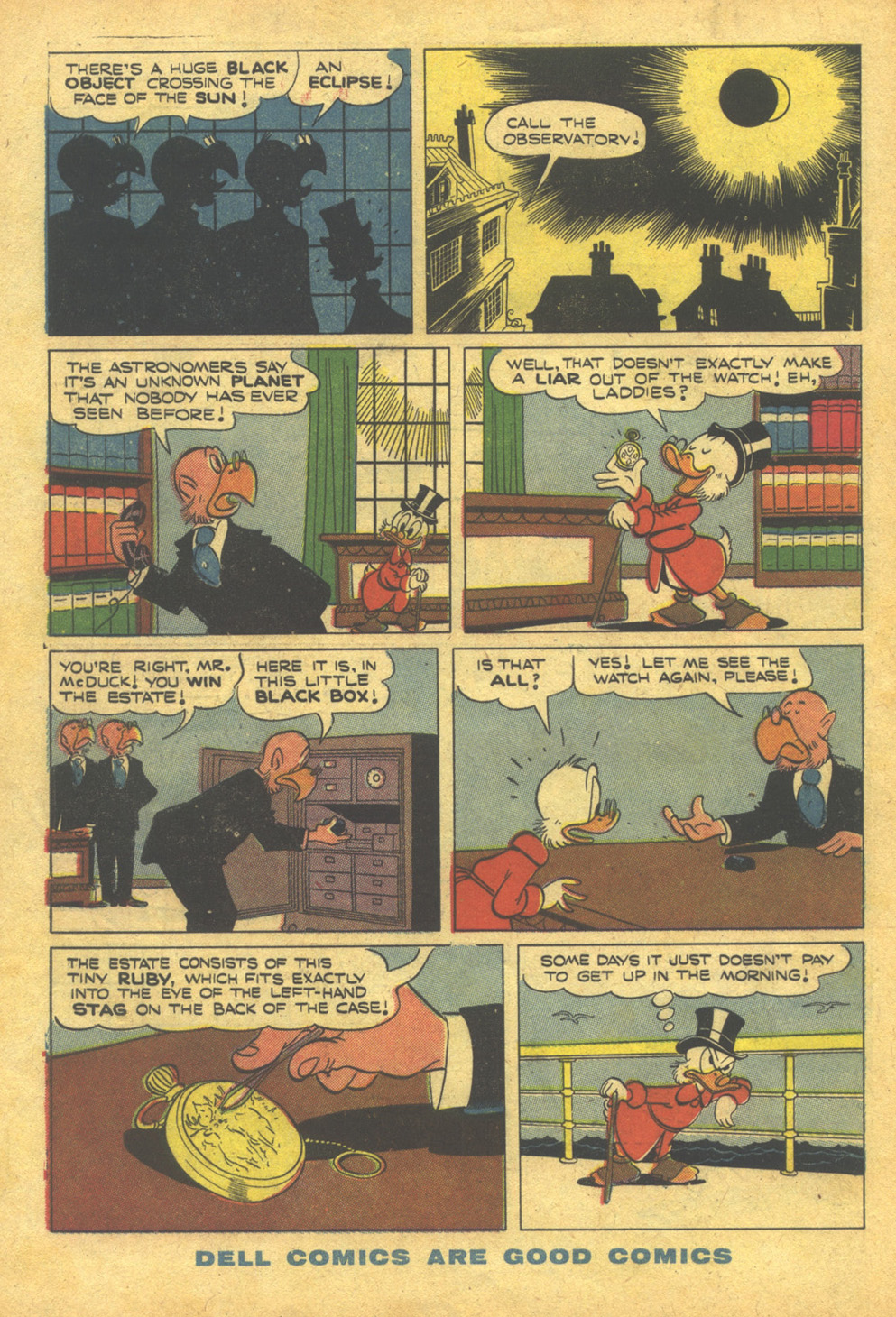 Read online Uncle Scrooge (1953) comic -  Issue #10 - 34
