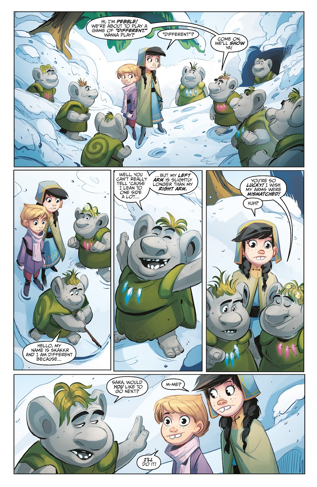 Read online Disney Frozen: The Hero Within comic -  Issue #2 - 16