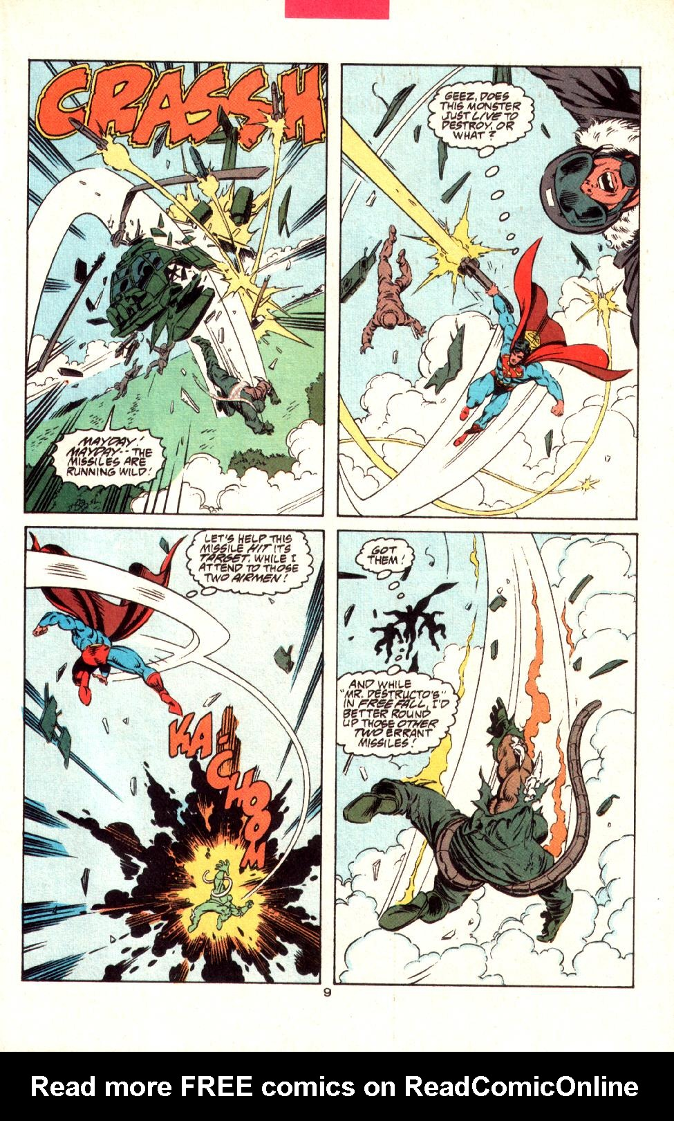 Read online Adventures of Superman (1987) comic -  Issue #497 - 11