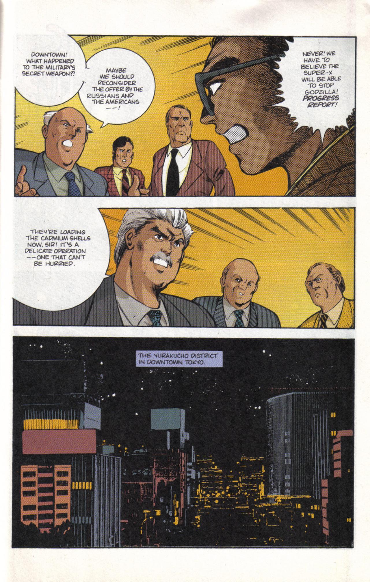Read online Dark Horse Classics: Terror of Godzilla comic -  Issue #3 - 25