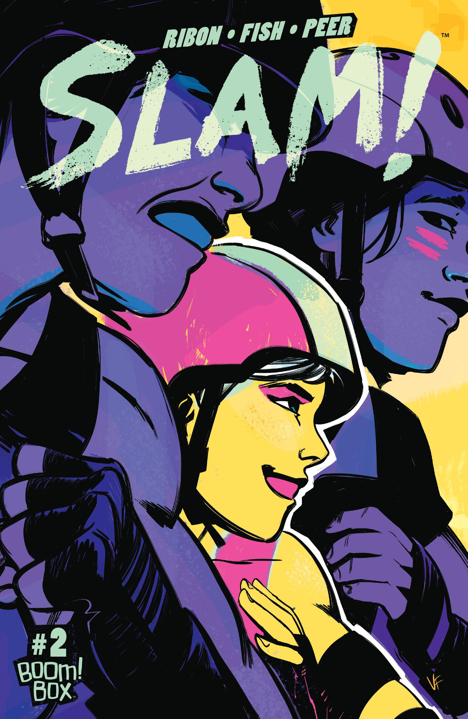 Read online Slam! comic -  Issue #2 - 1