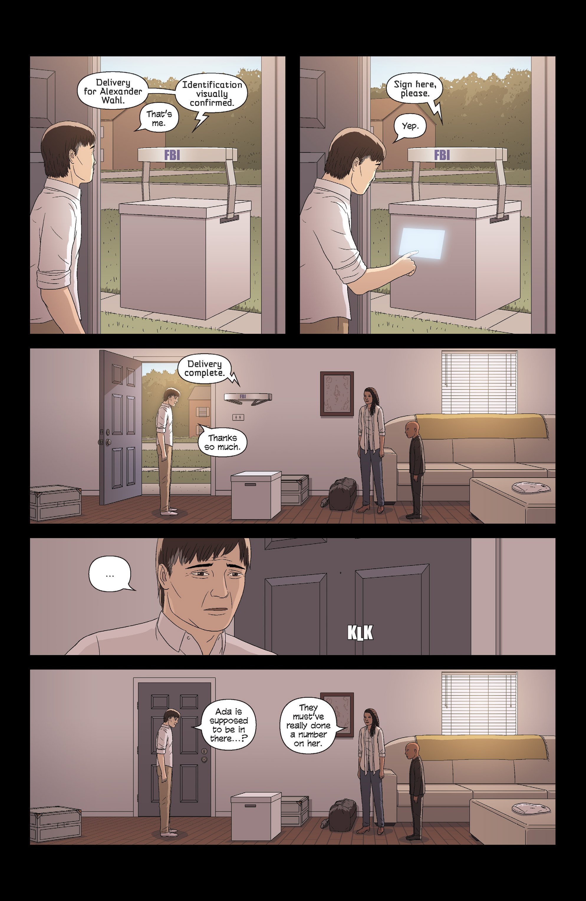 Read online Alex   Ada comic -  Issue # _TPB 3 - 118