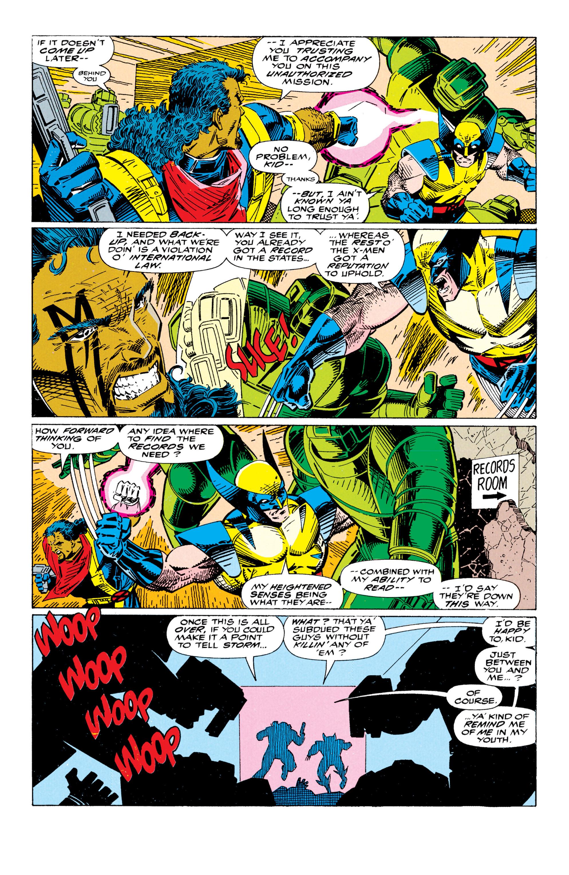 Read online Uncanny X-Men (1963) comic -  Issue #295 - 16