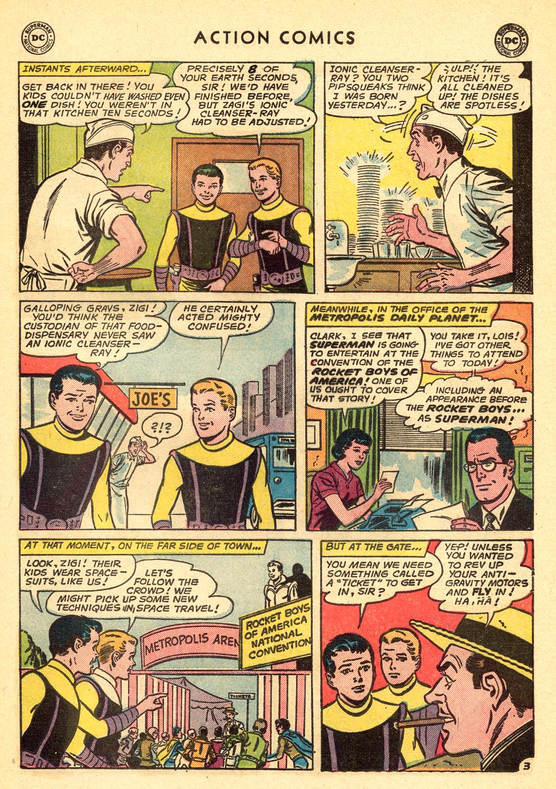 Read online Action Comics (1938) comic -  Issue #315 - 5