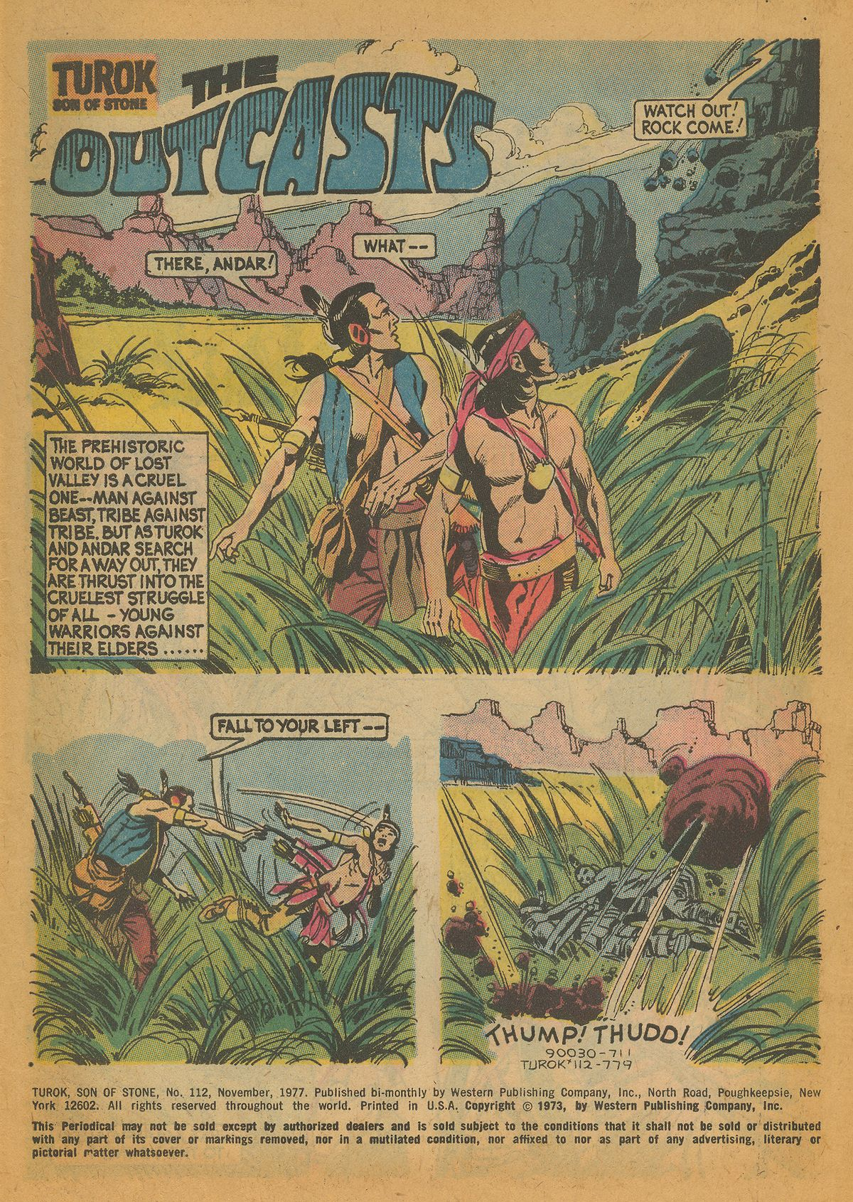 Read online Turok, Son of Stone comic -  Issue #112 - 3