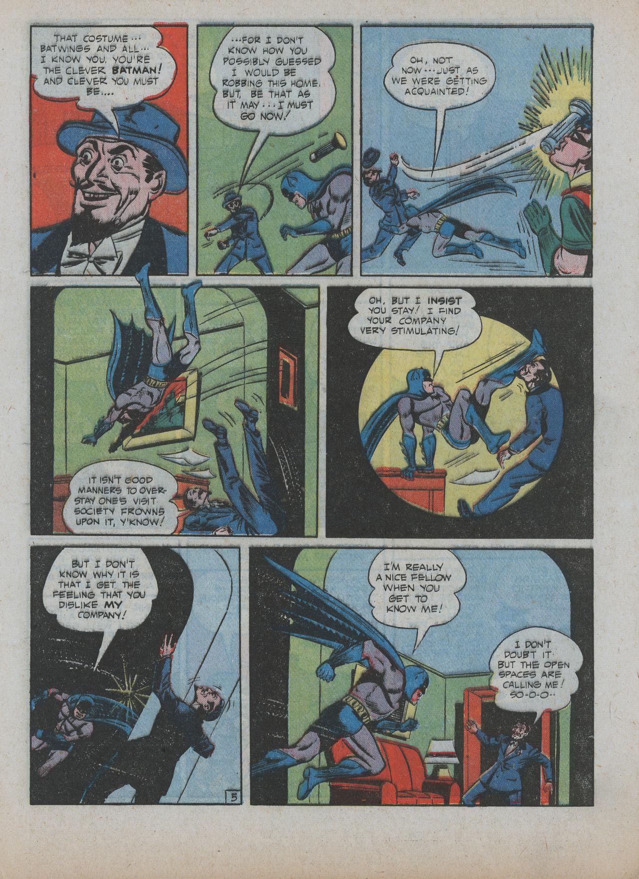 Read online Detective Comics (1937) comic -  Issue #63 - 7
