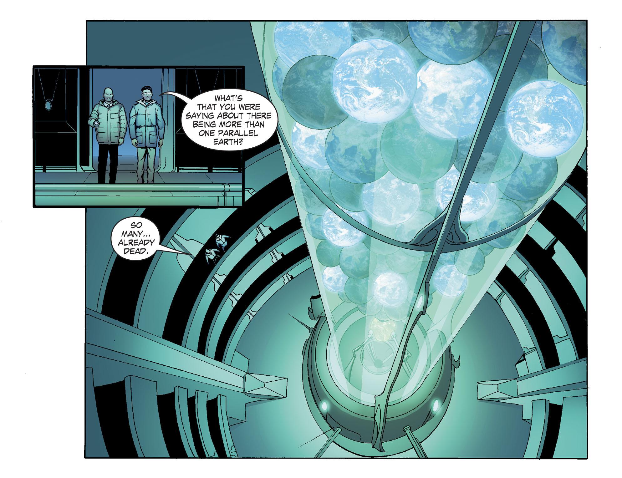 Read online Smallville: Alien comic -  Issue #8 - 19